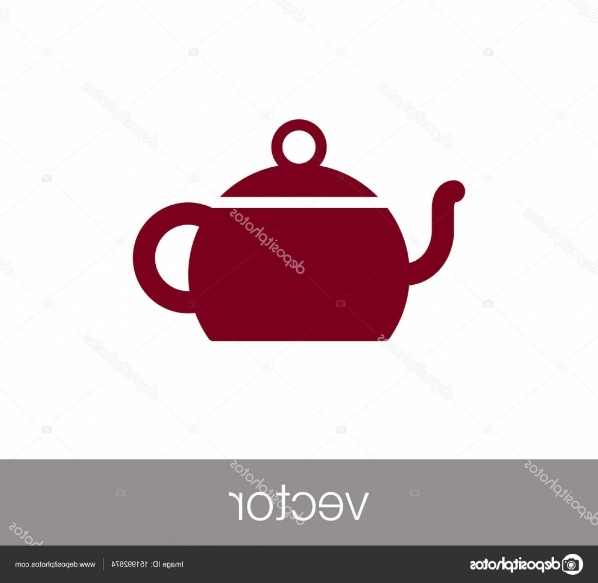 Small Email Icon Vector: Stock Illustration Design Of Tea Cup Icon