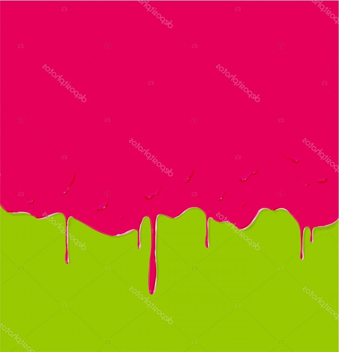 Dripping Paint Vector Illustration: Stock Illustration Dripping Paint Background Vector Illustration