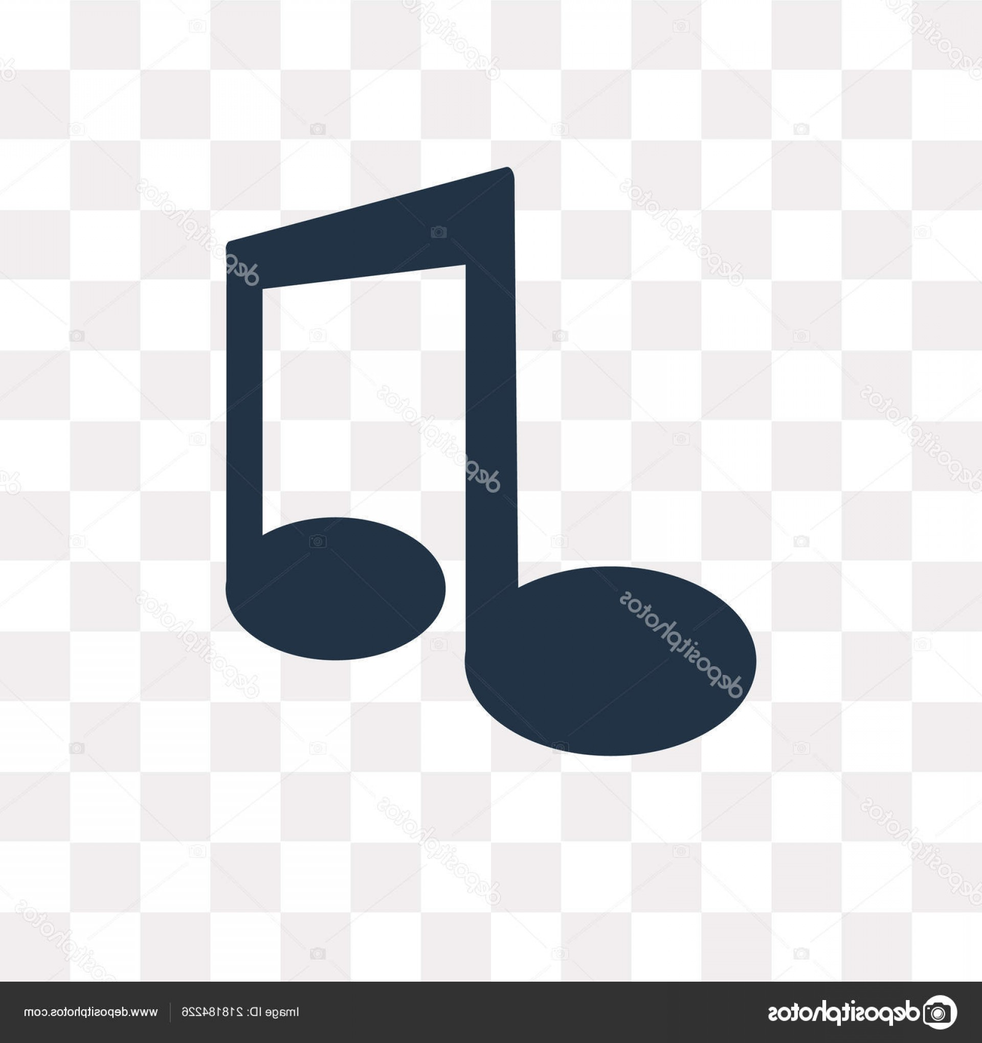 Eighth Note Vector: Stock Illustration Eighth Note Vector Icon Isolated