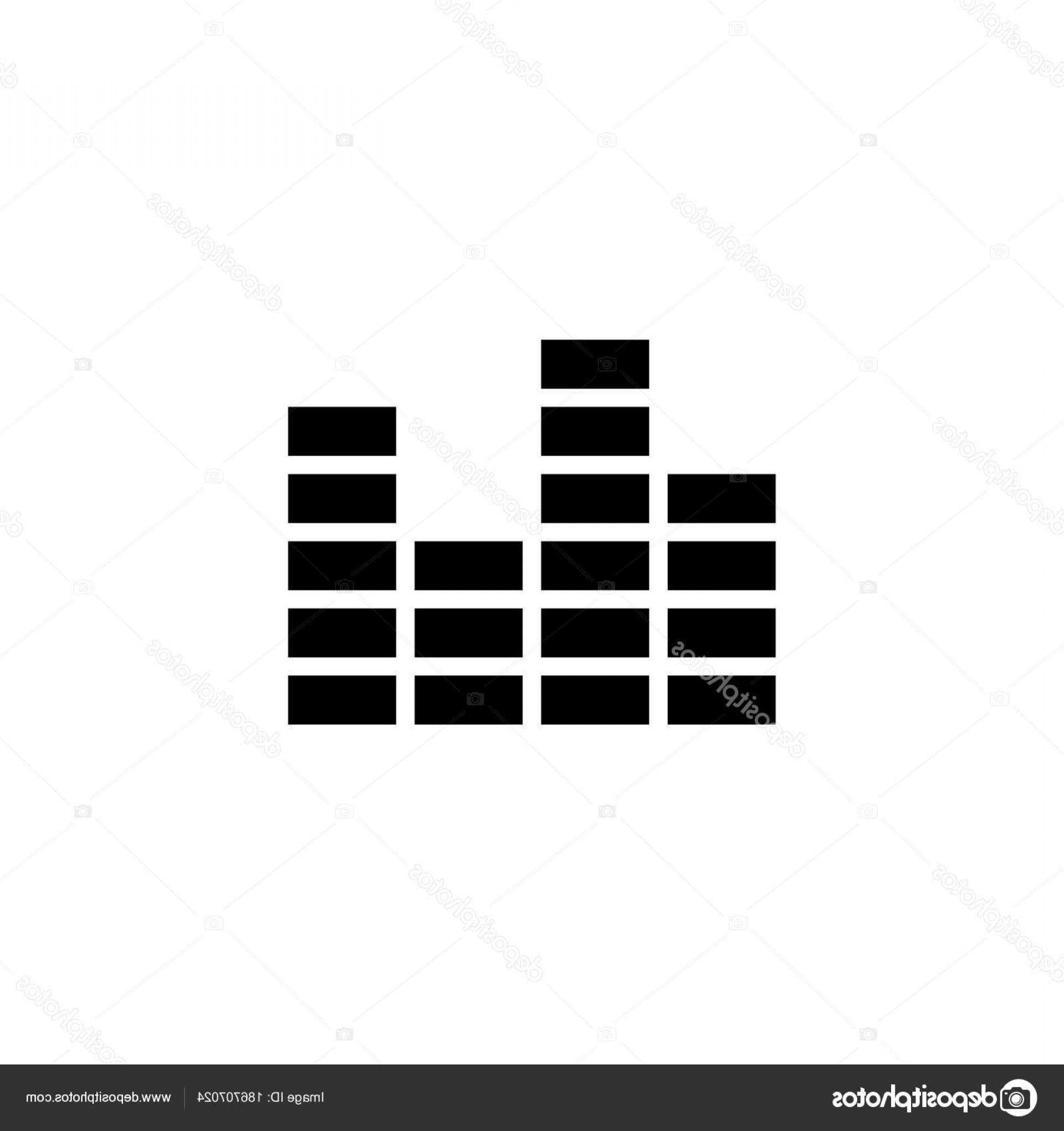 Equalizer Vector Icons: Stock Illustration Equalizer Icon Simple Illustration Vector