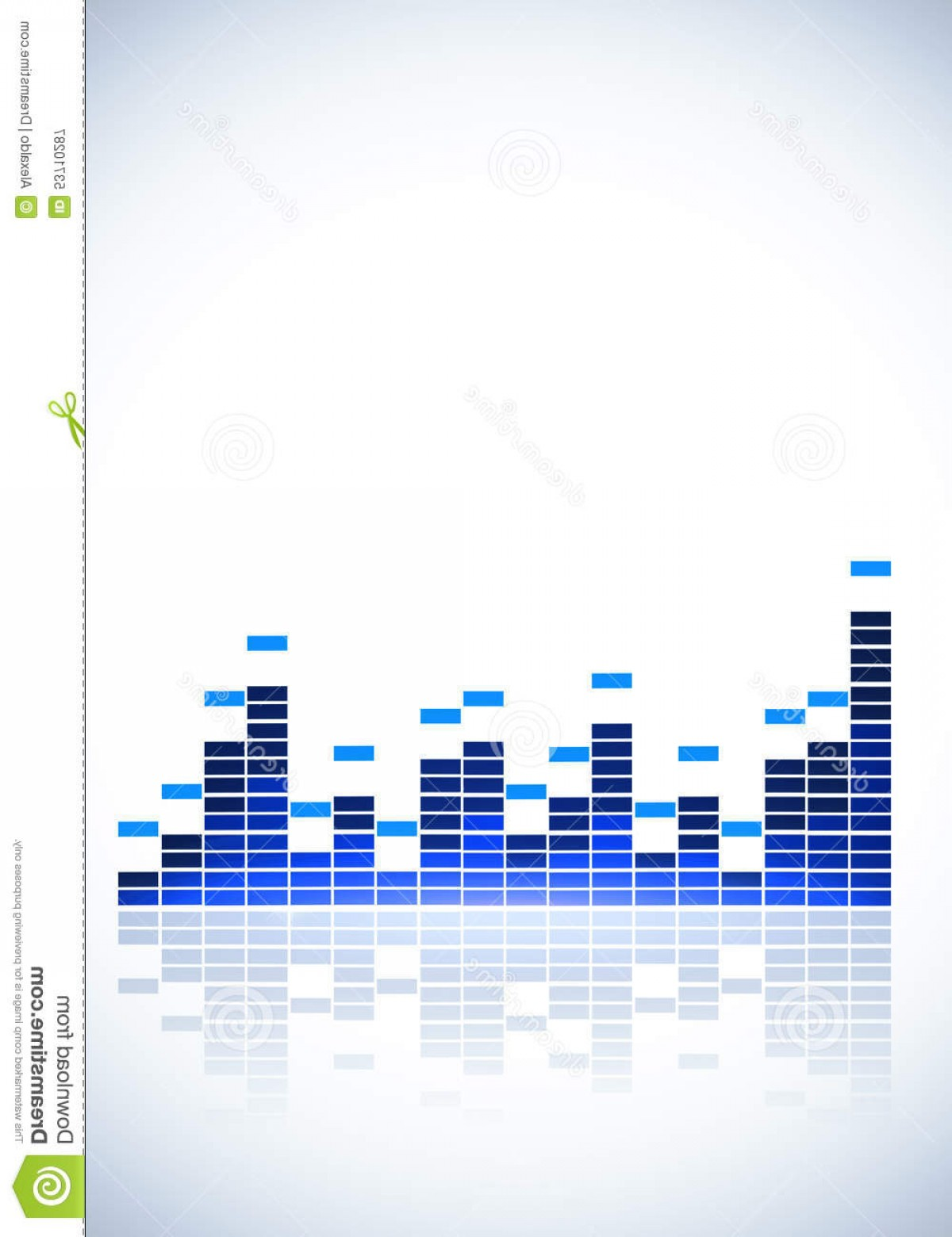 Gifs Bar Equalizer Vector Illustration: Stock Illustration Equalizer Music Background Blue White Party Events Image