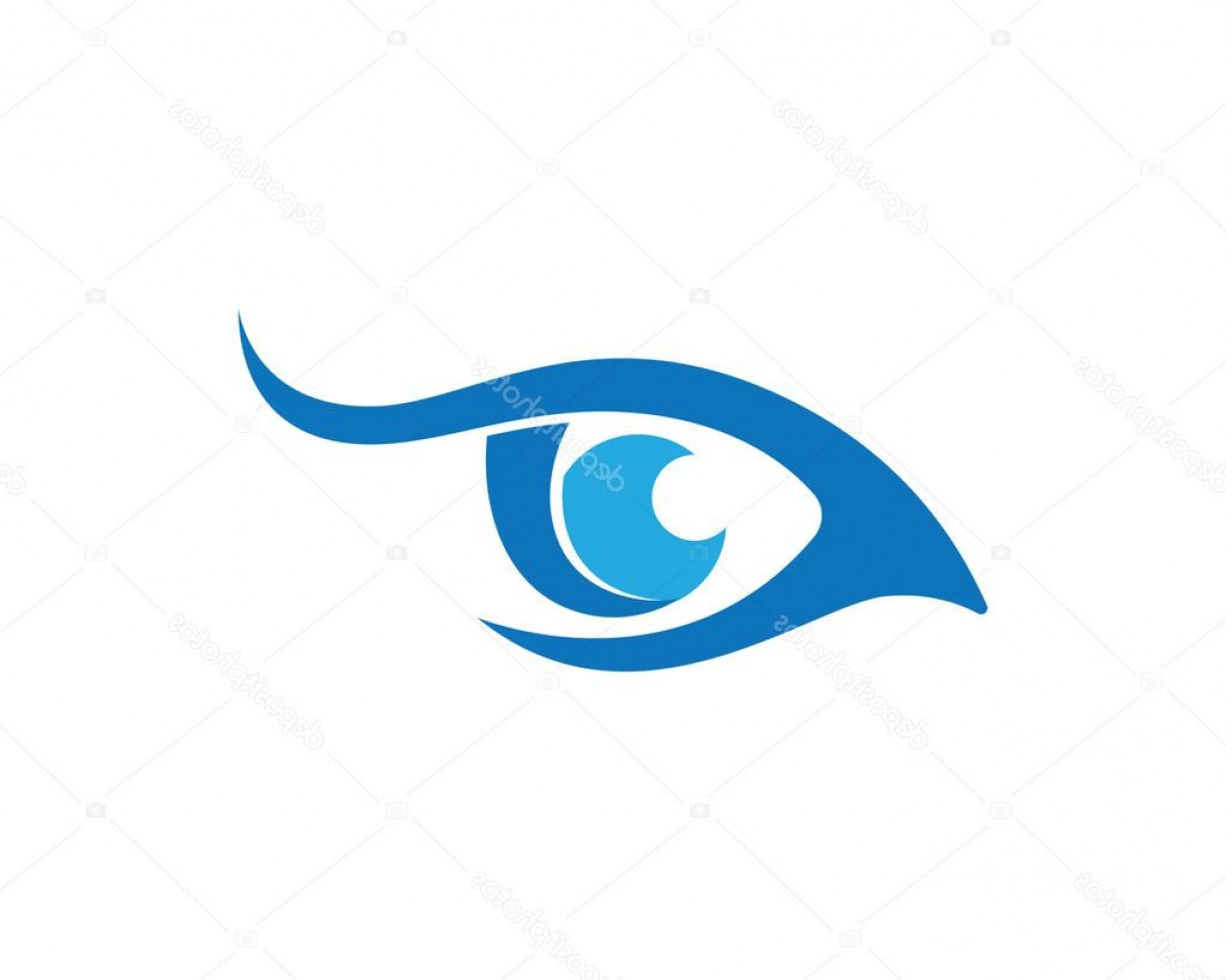 Eye Vector Logo: Stock Illustration Eye Logo Vector Logo Template