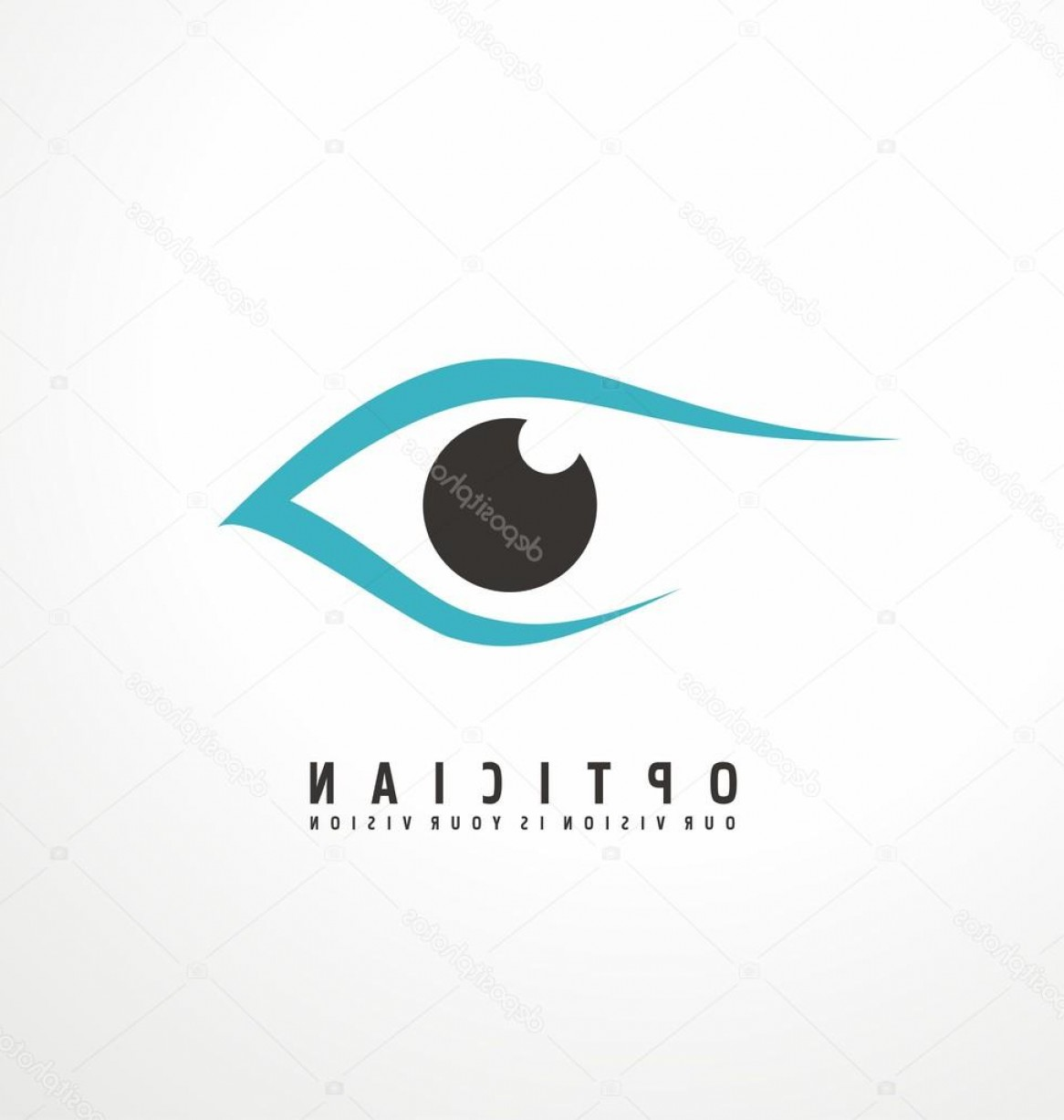 Eye Vector Logo: Stock Illustration Eye Vector Logo Design Idea