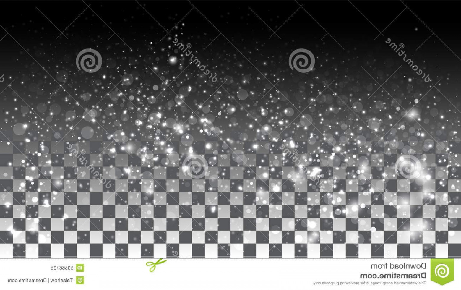 Snow Falling Vector Free: Stock Illustration Falling Snow Transparent Background Vector Special Effects Image