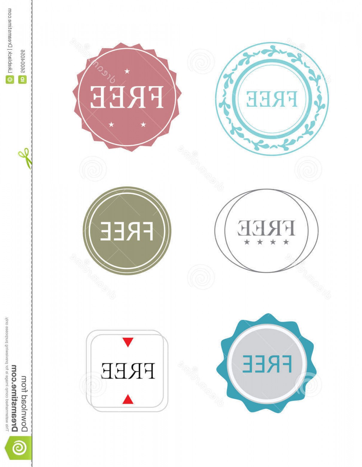 Vector Freebies: Stock Illustration Free Icon Vector Illustrated Icons Word Image