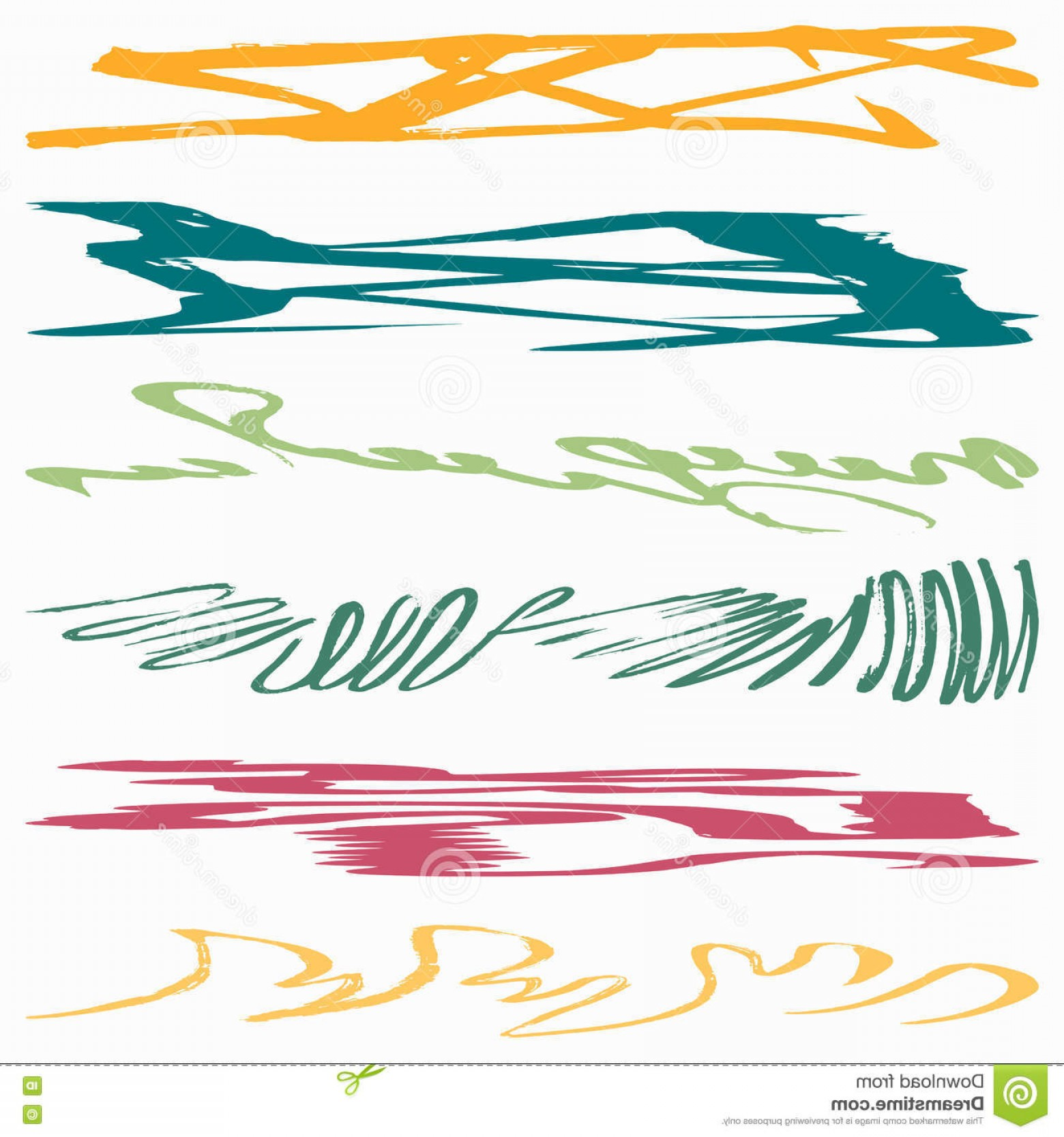Graffiti Lines Vector: Stock Illustration Graffiti Abstract Color Lines Vector Eps Image