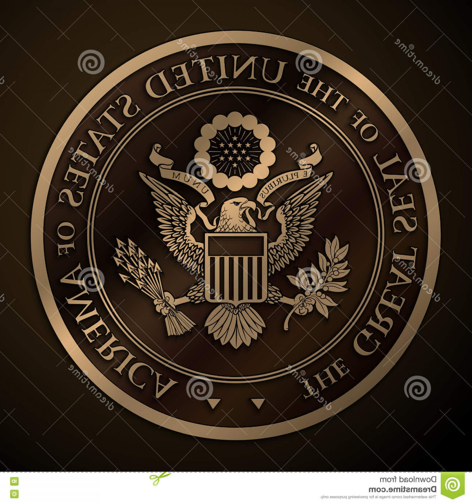 California Seal Vector EPS: Stock Illustration Great Seal Us Gold Highly Detailed Vector Design Monochromatic Embossed Official United States Eps Mpxl Q Jpeg Image
