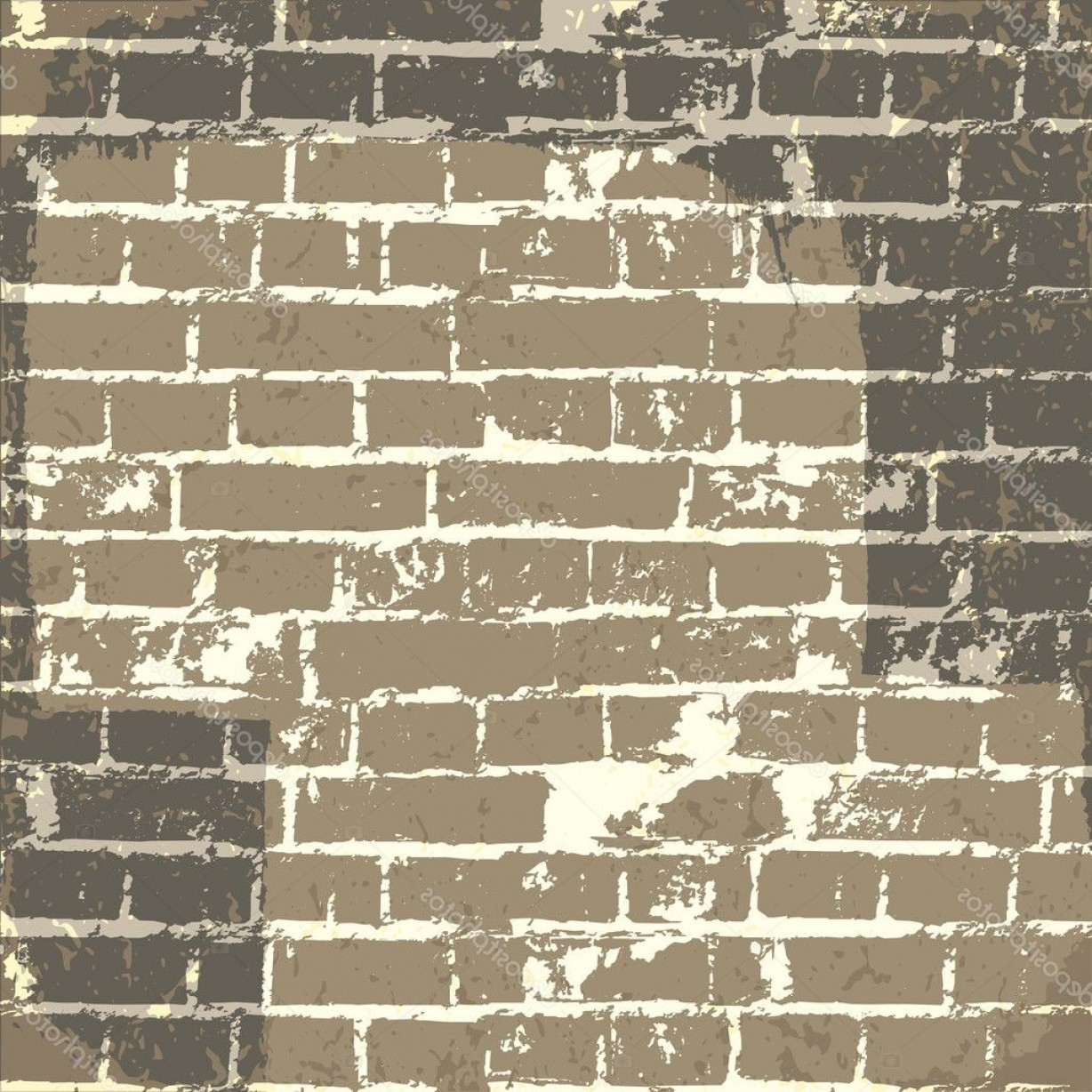Wall Background Vector: Stock Illustration Grunge Brick Wall Background For