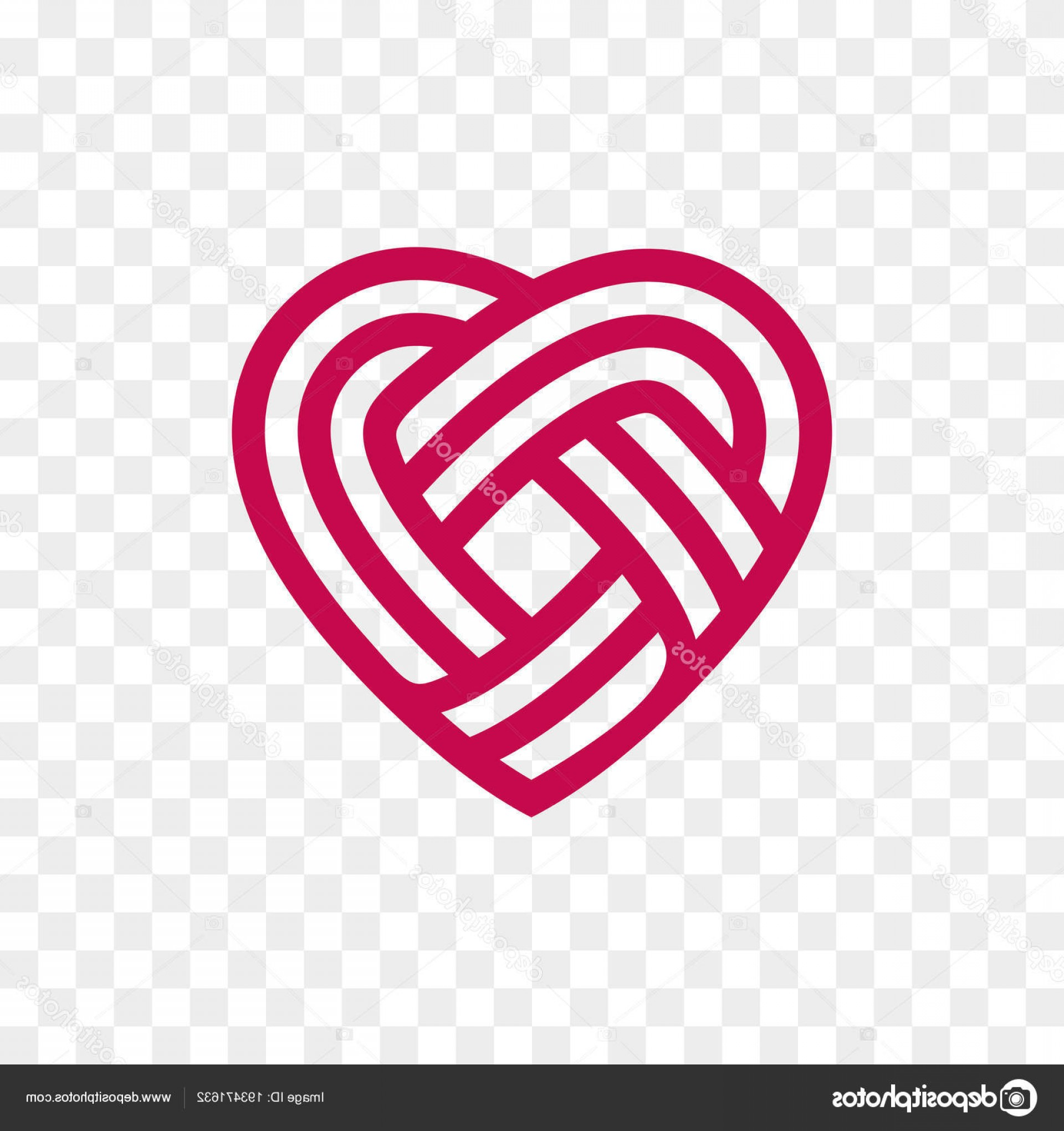 Vector Infinity Symbol Hearts: Stock Illustration Heart Logo Vector Infinity Loop