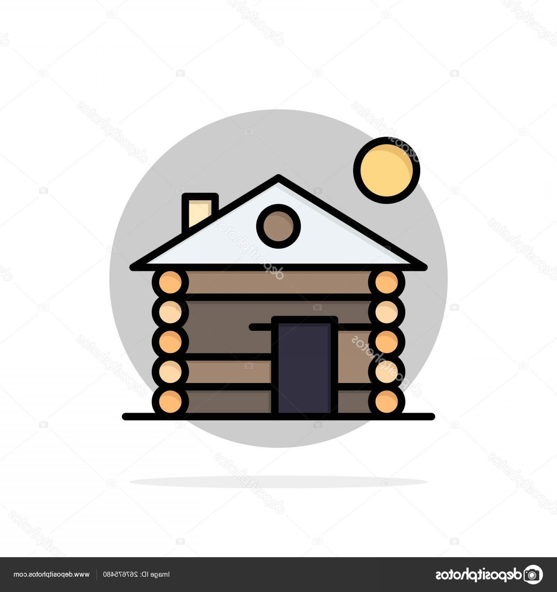 Log C Vector: Stock Illustration Hotel Building Service Home Abstract