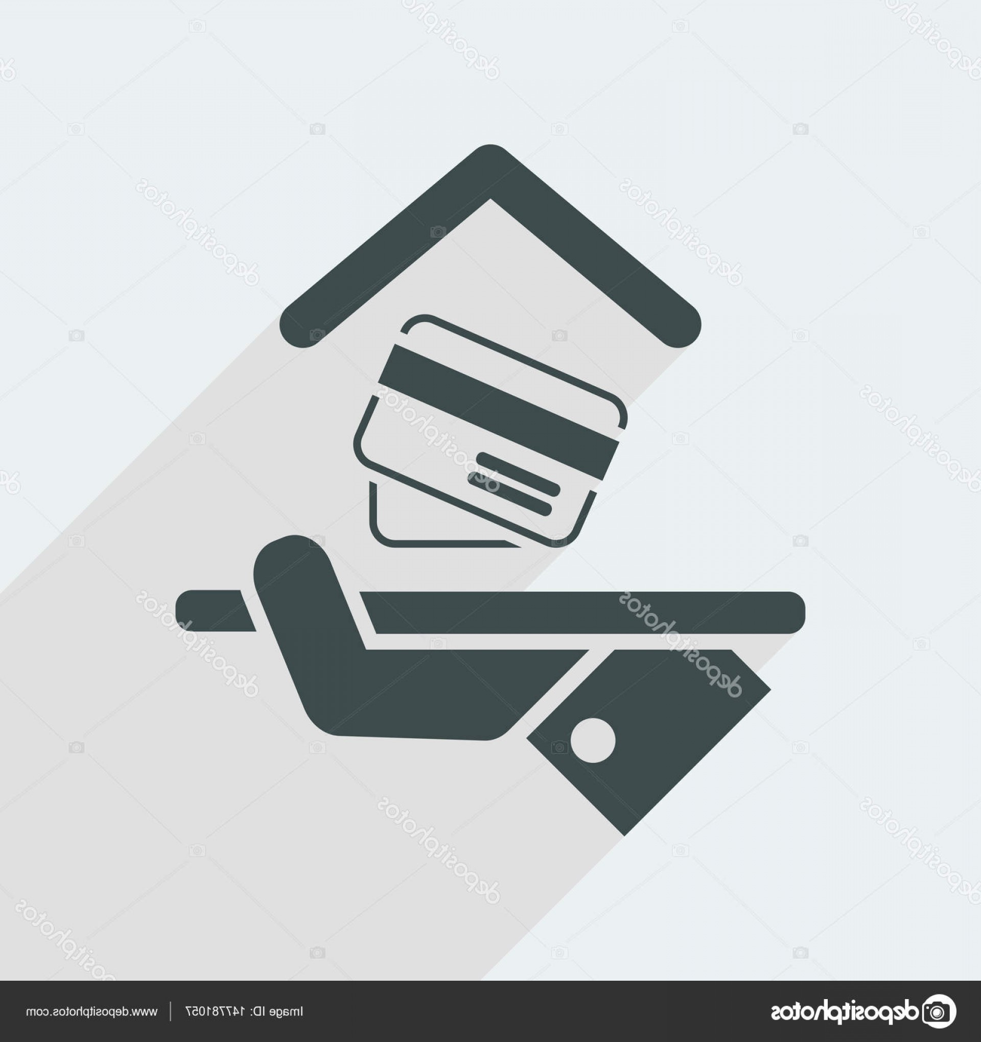 Vector Cards Accepted: Stock Illustration Hotel Icon Credit Cards Accepted