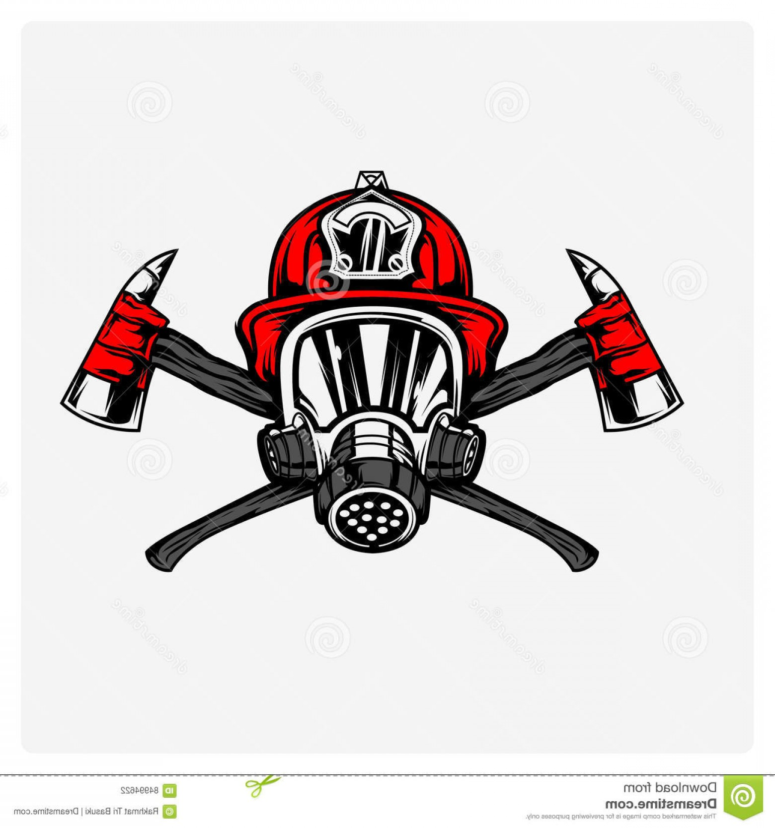Fire Fighter Logo Vector: Stock Illustration Illustration Vector Firefighter Design Can Be Used Logo Poster Icon T Shirt Est Image