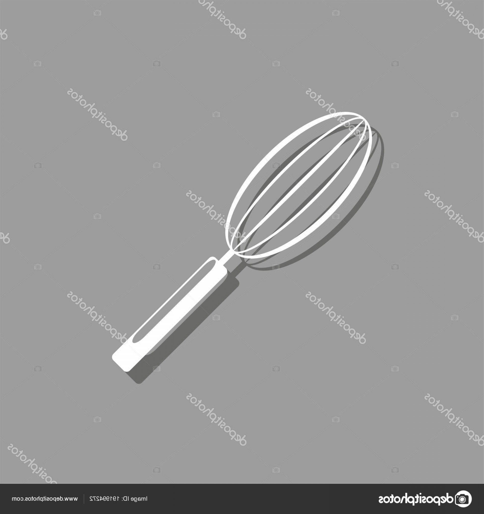 Kitchen Whisk Vector: Stock Illustration Kitchen Whisk Vector Icon