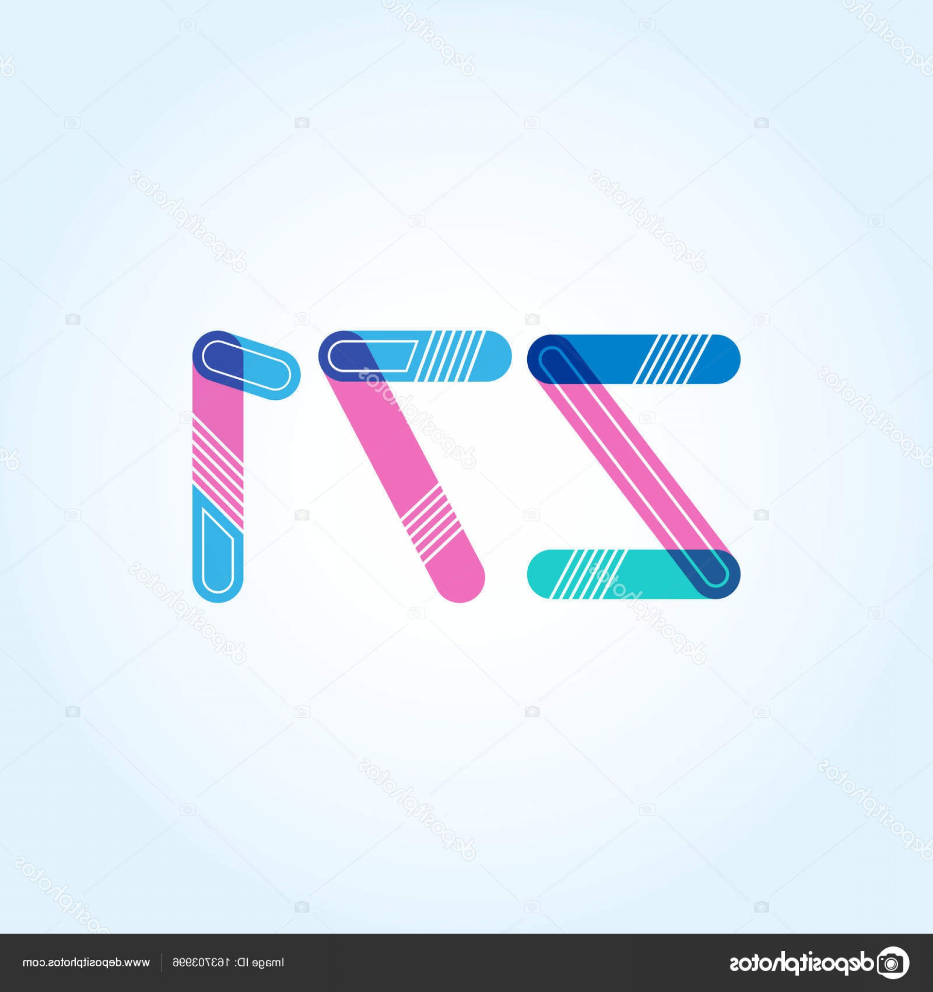 Z71 Logo Vector: Stock Illustration Letter And Digit Company Logo