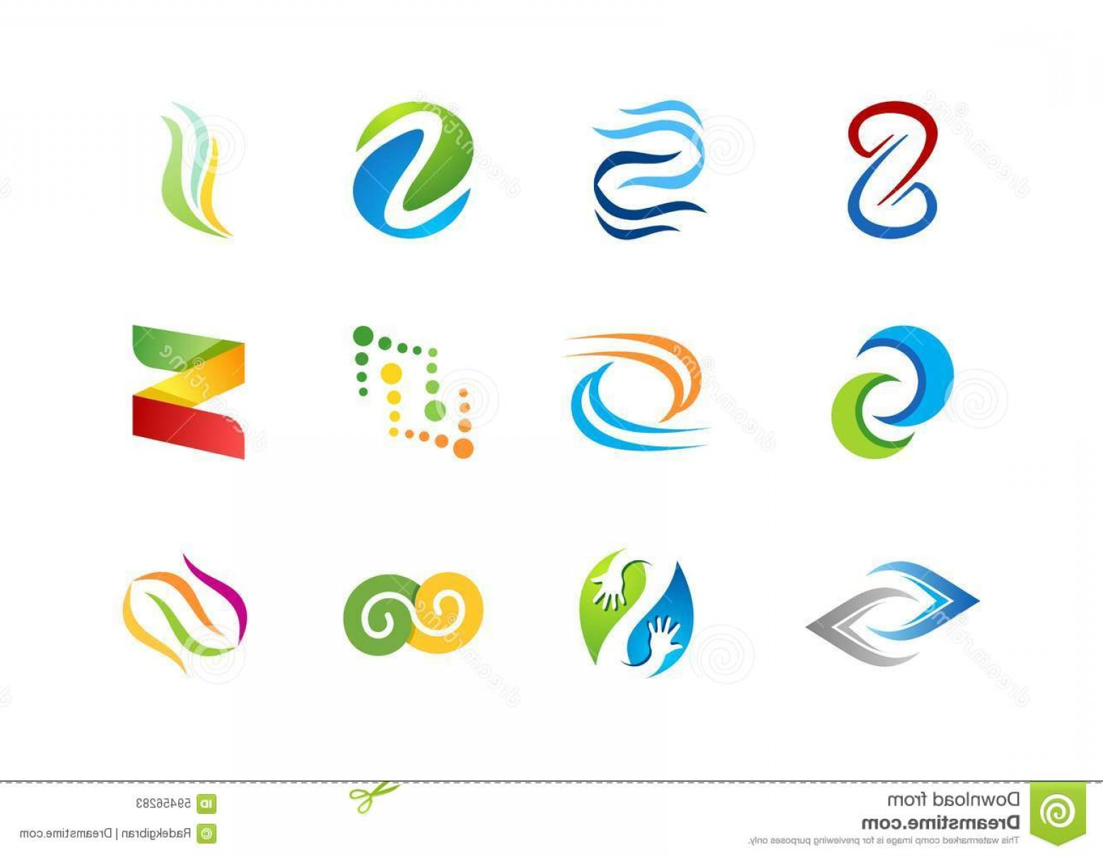 Business Vector Logos: Stock Illustration Letter S Logo Abstract Element Concept Company Logos Business Logo Symbol Icon Vector Design Elements Image