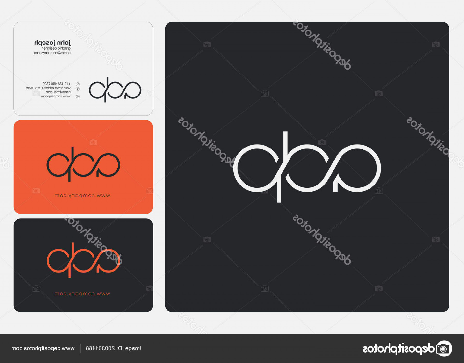 ADP Logo Vector: Stock Illustration Letters Logo Adp Template Business