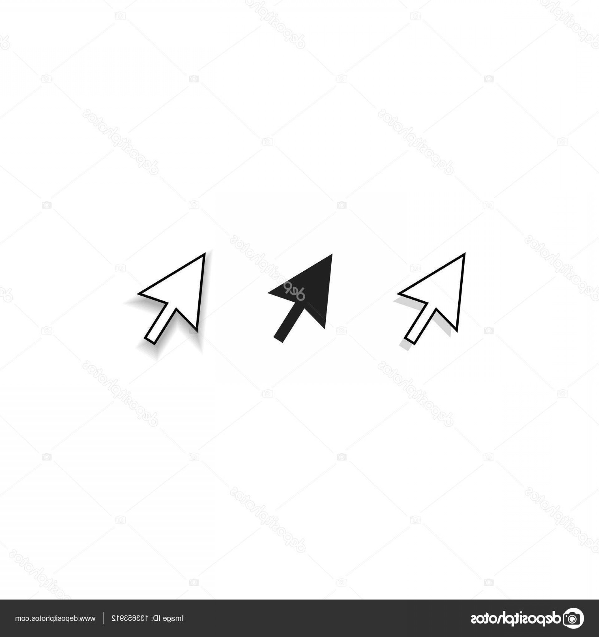 Computer Pointer Vector: Stock Illustration Mouse Cursor Pointer Vector Icons