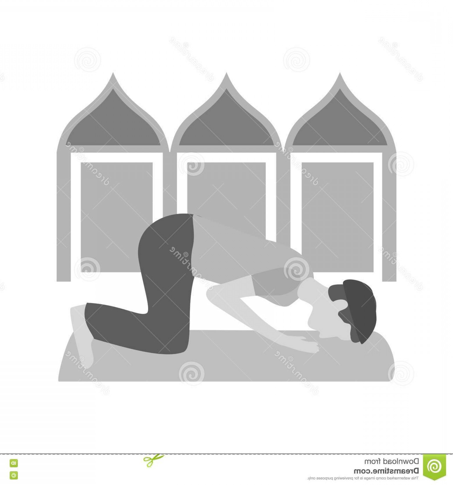 Praying Cowboy Vector: Stock Illustration Muslim Praying Pray People Icon Vector Image Can Also Be Used People Suitable Web Apps Mobile Apps Print Media Image