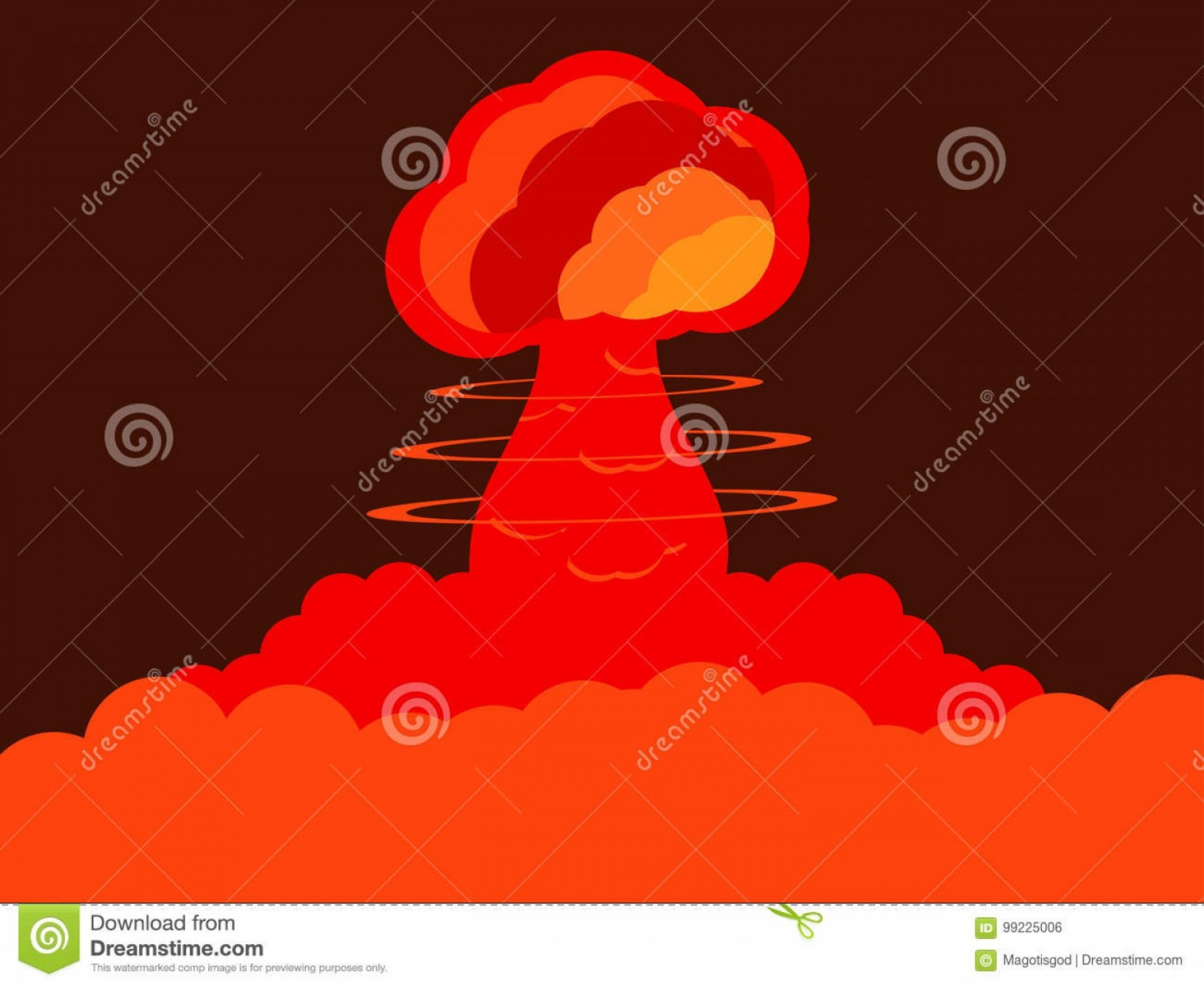 Atomic Bomb Explosion Vector: Stock Illustration Nuclear Explosion Atomic Bomb Vector Illustration Nuclear Explosion Atomic Bomb Vector Image