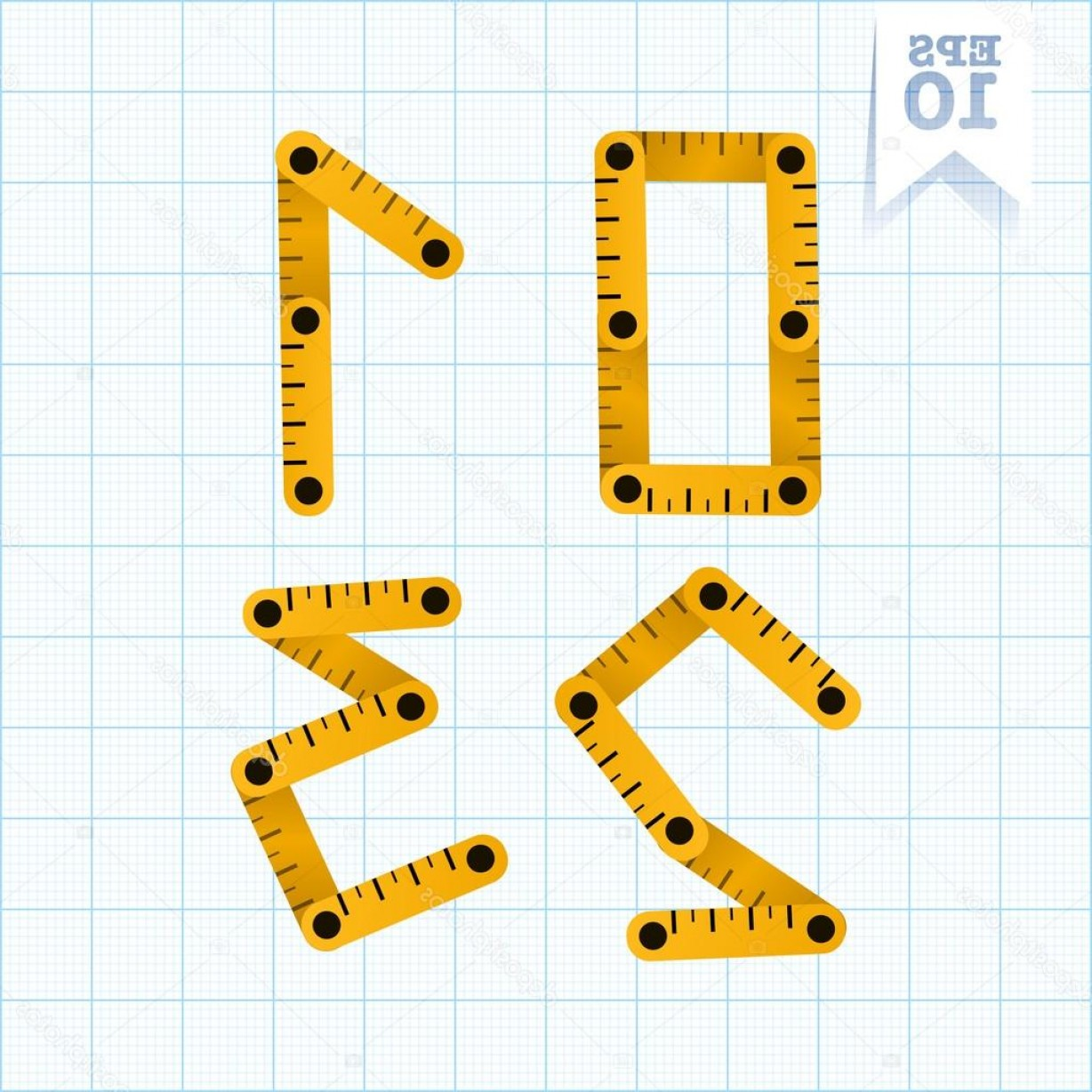 Graphing Vectors 2 1: Stock Illustration Numbers And