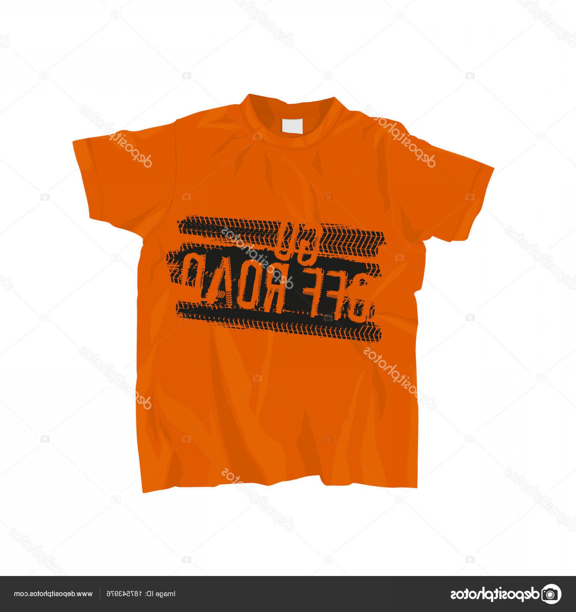 Vector Stamp Shirts: Stock Illustration Off Road T Shirts Design