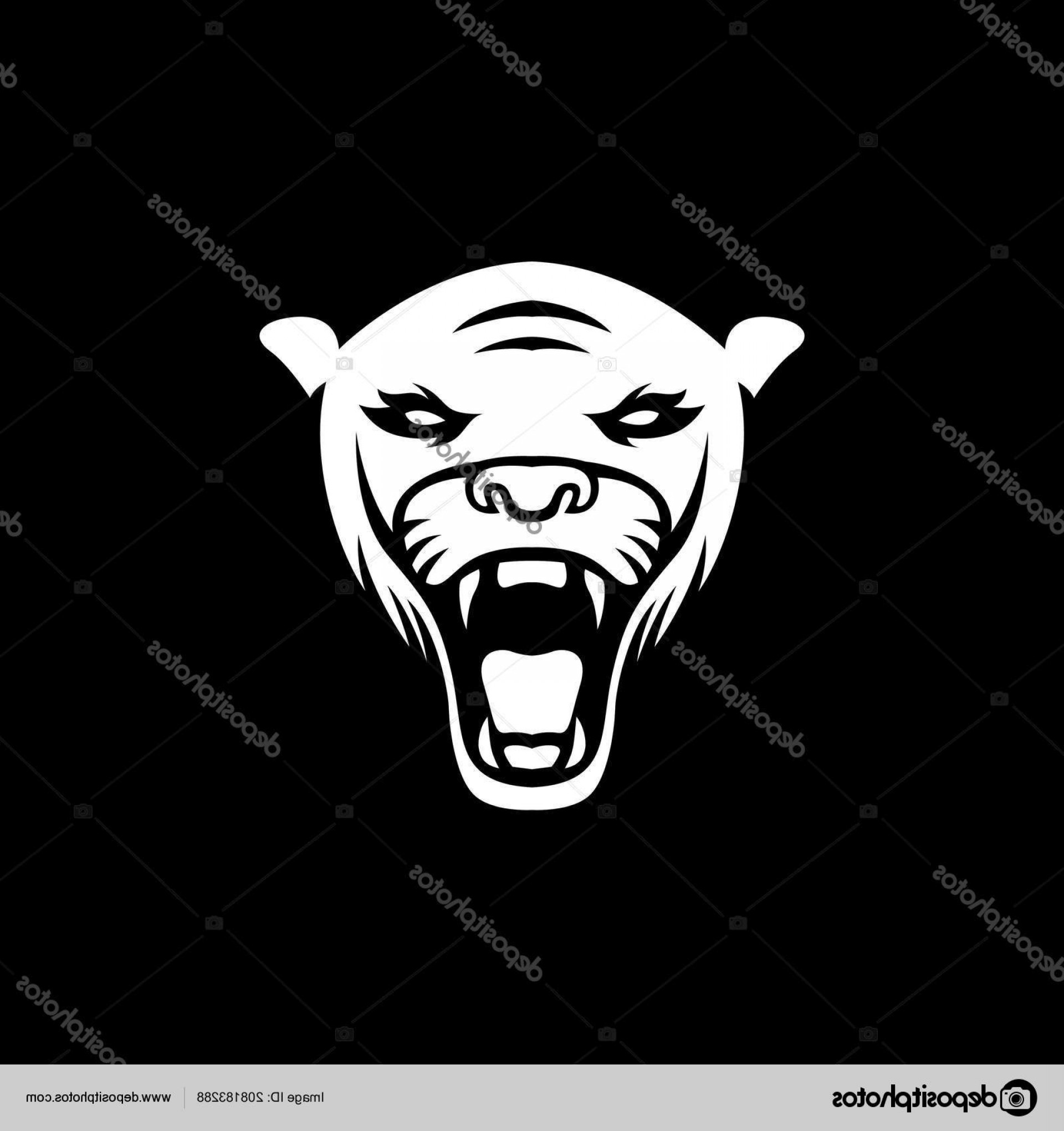 Panther Mascot Vector Sports: Stock Illustration Panther Logo Mascot Design Illustration