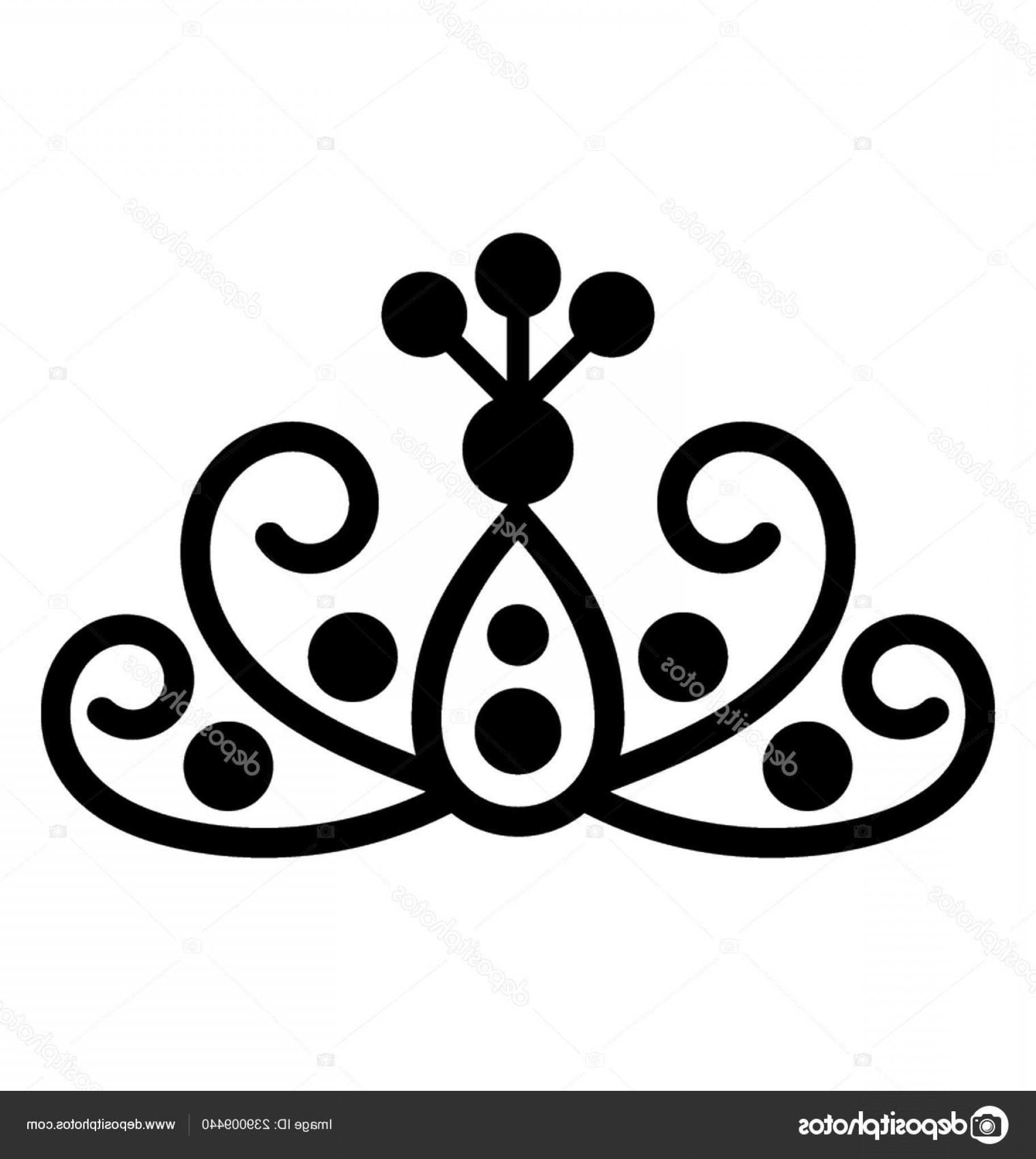 Princess Crown Vector Graphic: Stock Illustration Princess Crown Precious Crown Symbol