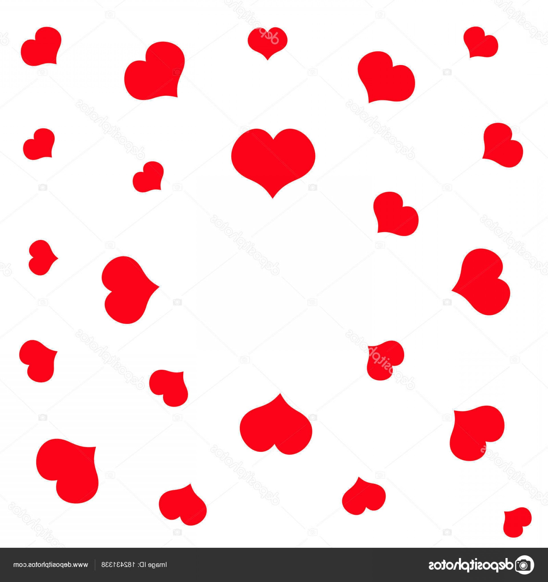 Cool Vector Hearts Pattern Symbol Pattern: Stock Illustration Red Hearts Pattern Happy Valentines
