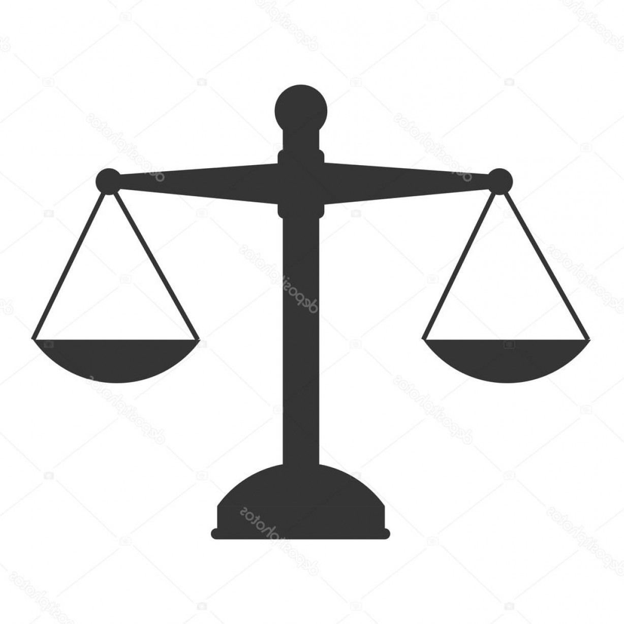 Lawyer Scale Vector: Stock Illustration Scale Law Weight Vector Graphic