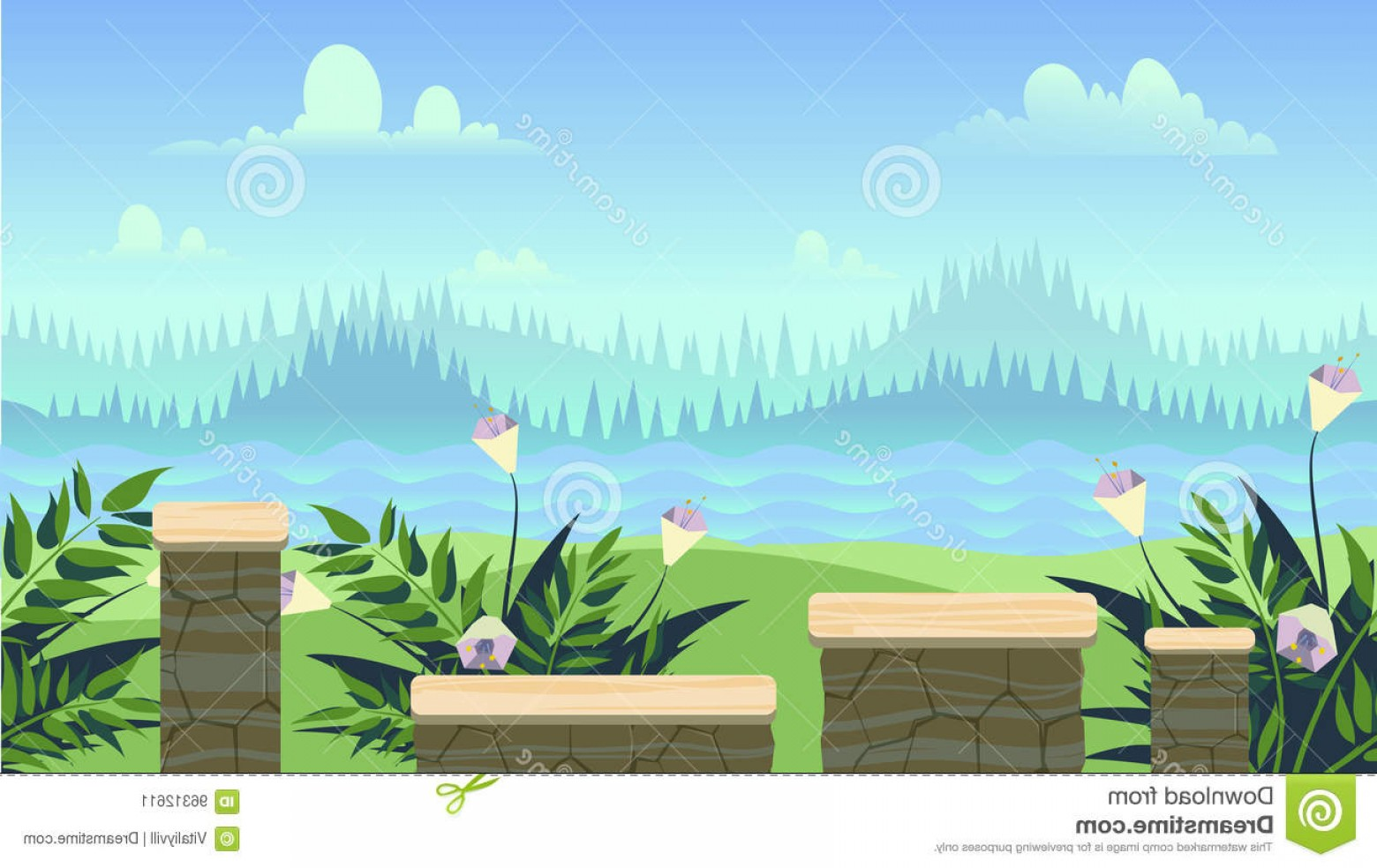 Vector Applications On Computers: Stock Illustration Seamless Background Games Mobile Applications Computers Vector Illustration Your Design Size Fits Devices May Image