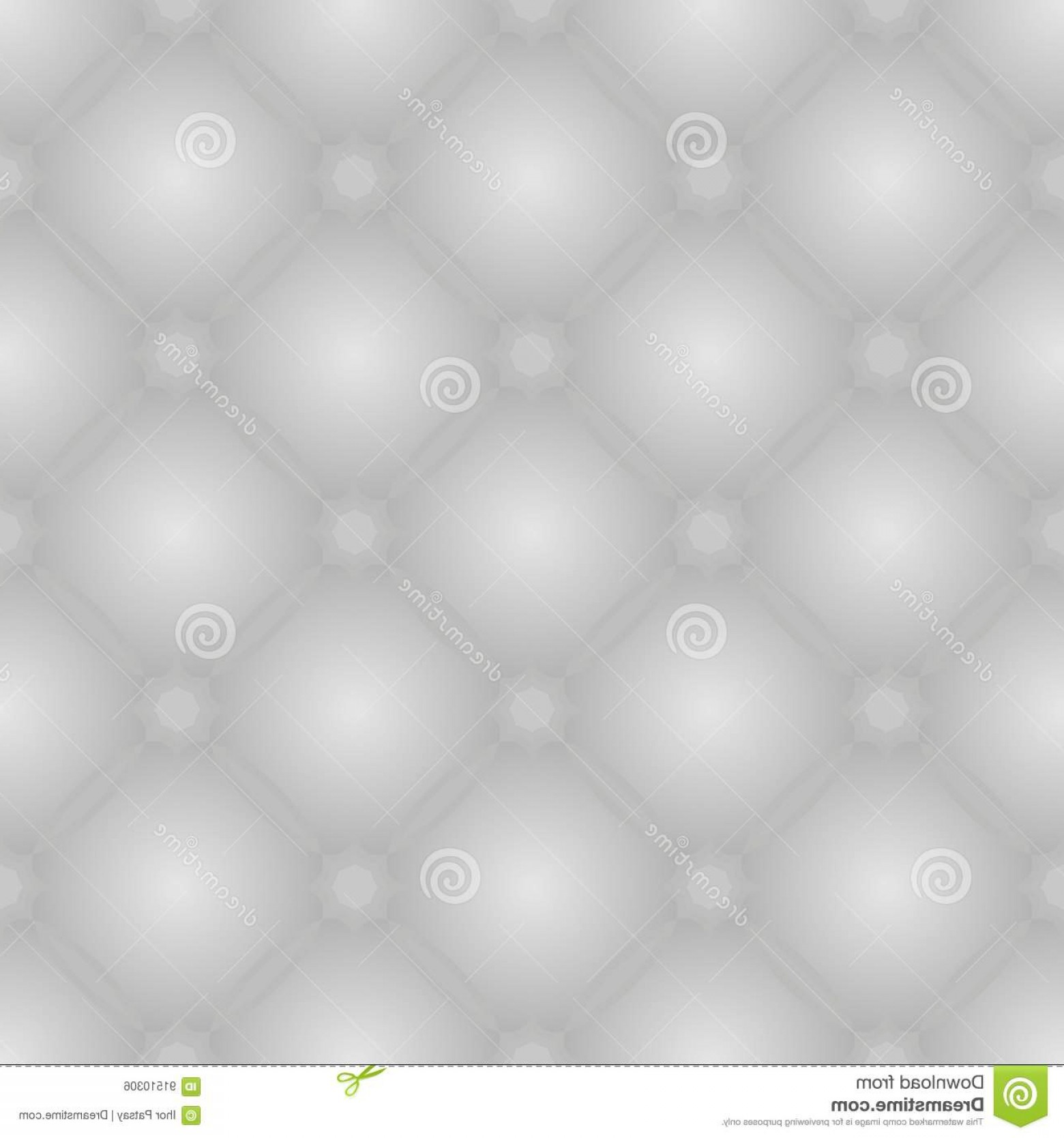 Stock Illustration Seamless Leather Pattern Grey Tufted Texture Background Image