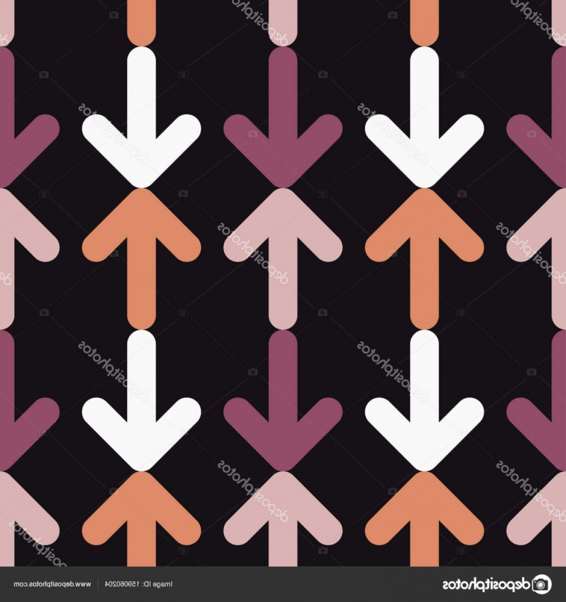 Rapport Vector: Stock Illustration Seamless Vector Background With Decorative
