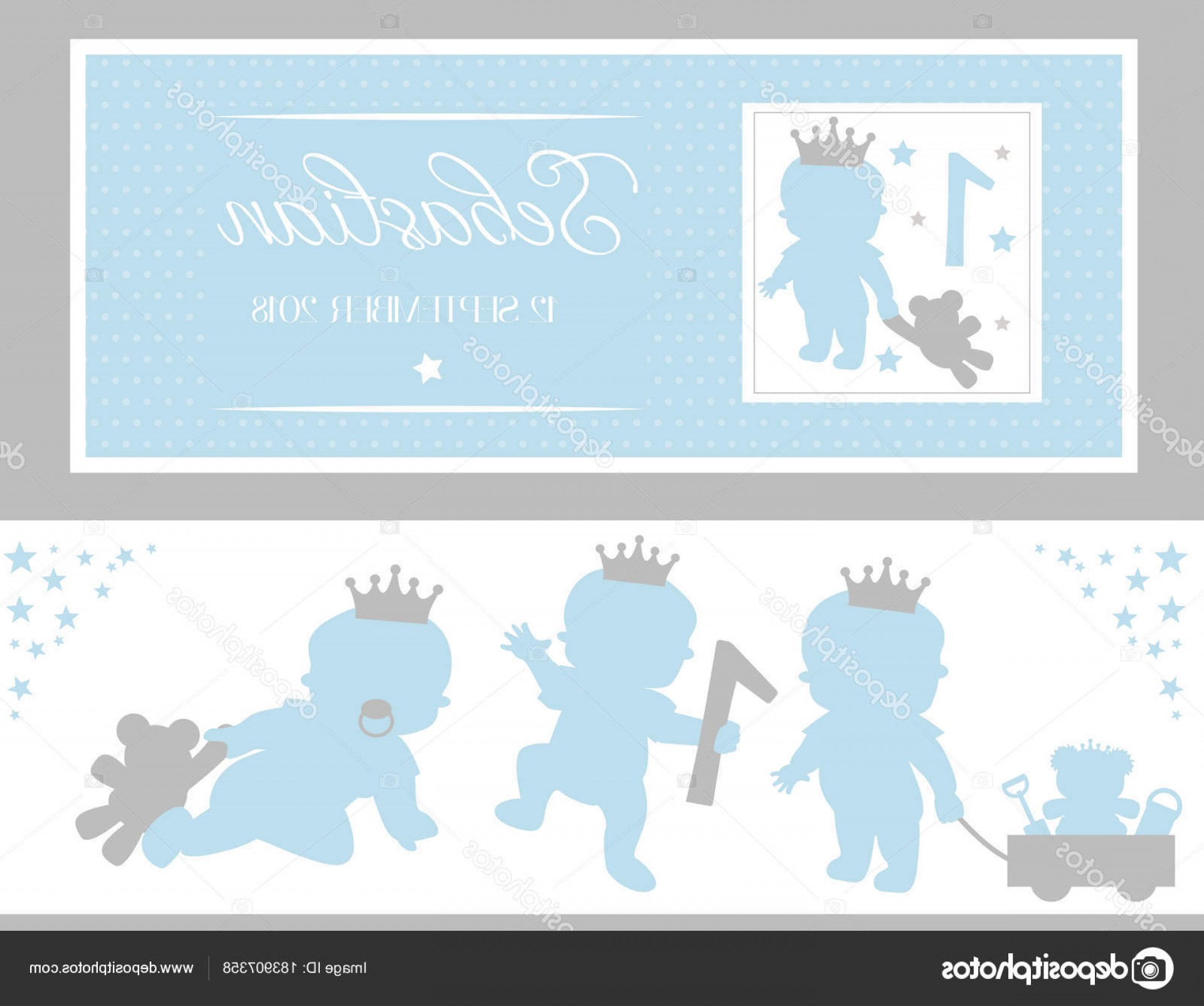 Silver Prince Vector: Stock Illustration Set Cute Silhouettes Little Prince