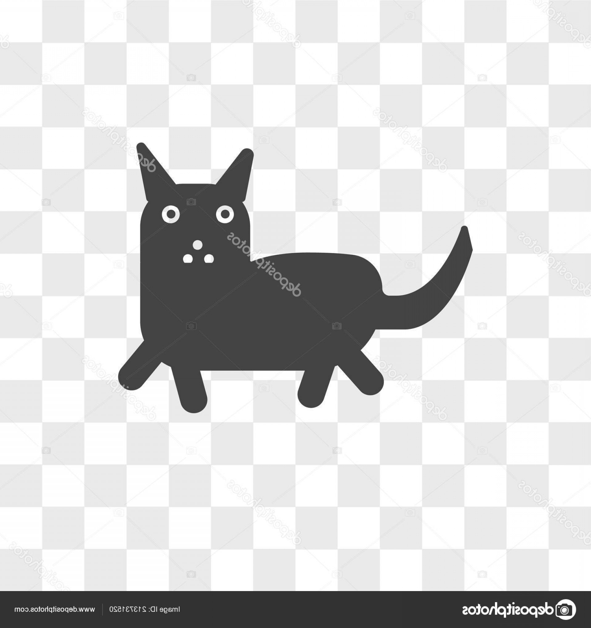 Siamese Cat Vector Transparent Background: Stock Illustration Siamese Cat Vector Icon Isolated
