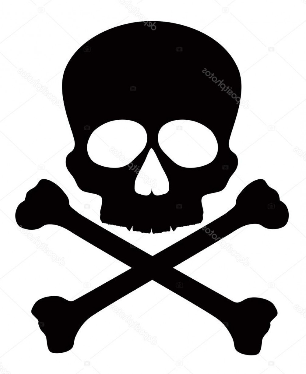 Skull ND Crossbones Vector: Stock Illustration Skull With Crossbones Vector Illustration