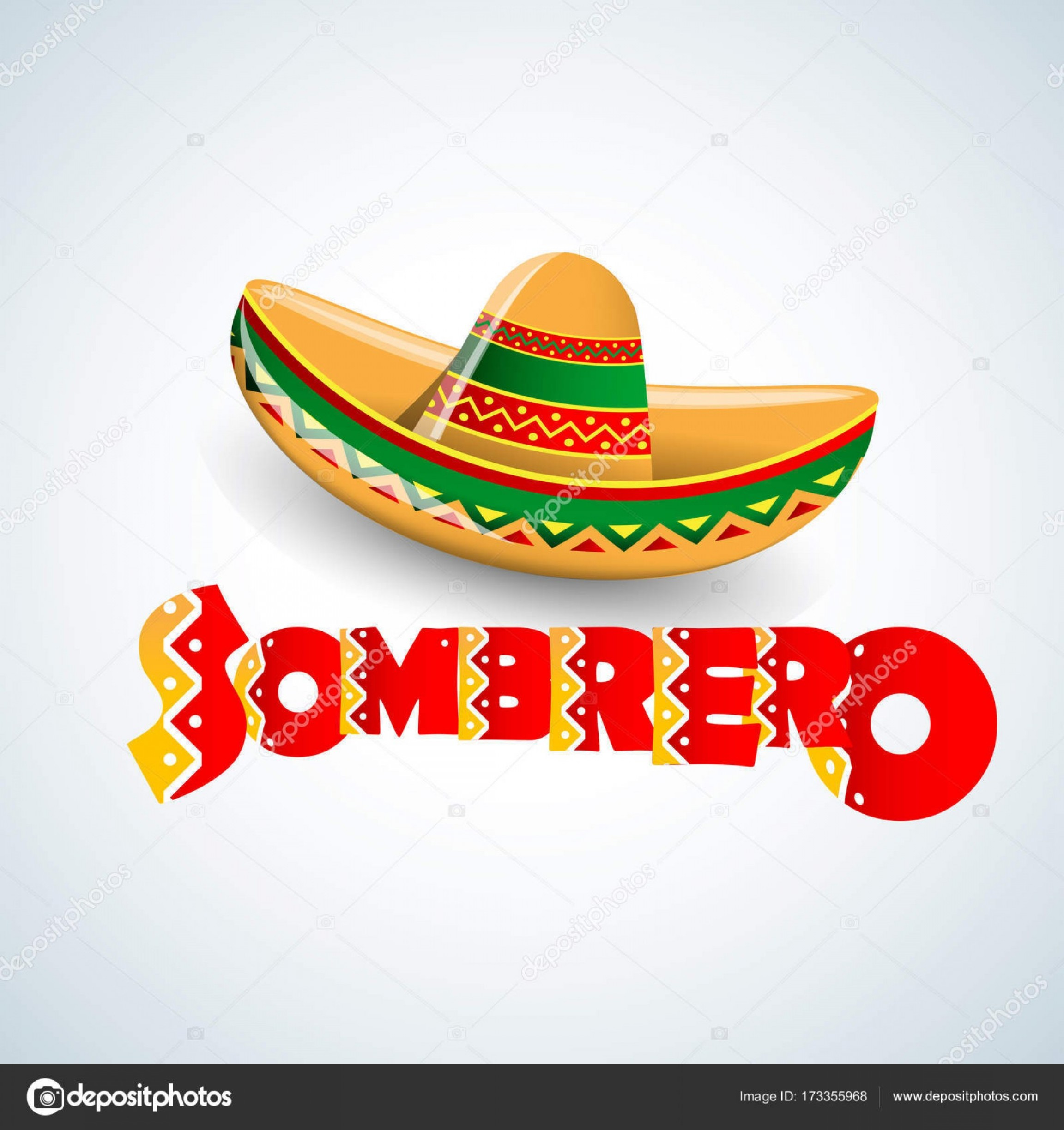 Sombrero Hat Vector: Stock Illustration Sombrero Hat Vector Illustration Mexican