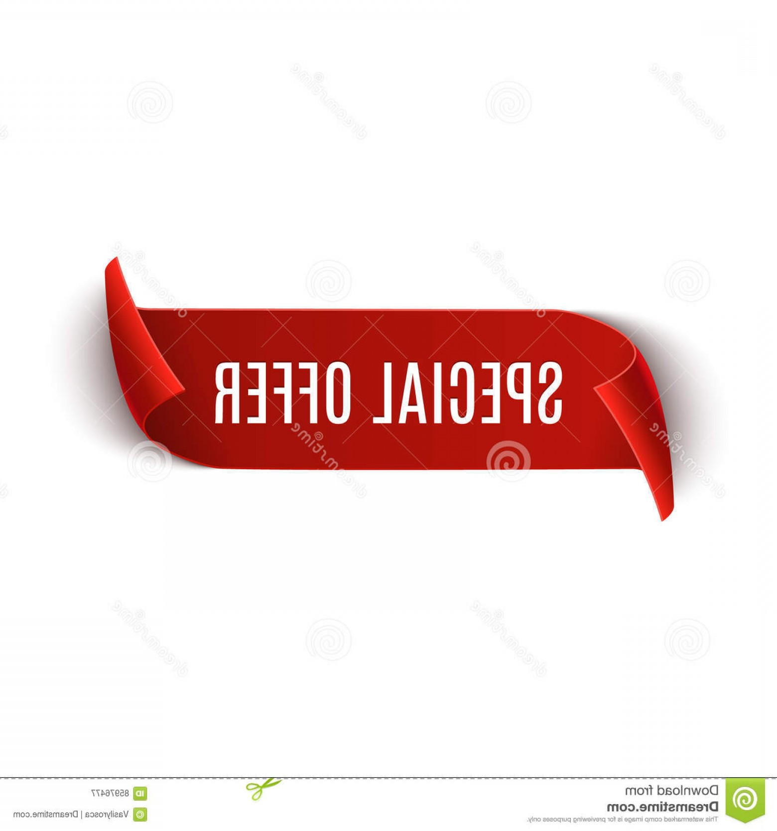 Special Offer Vector: Stock Illustration Special Offer Vector Ribbon Design Template Banner Sale Tag Market Special Offer Discount Label Image