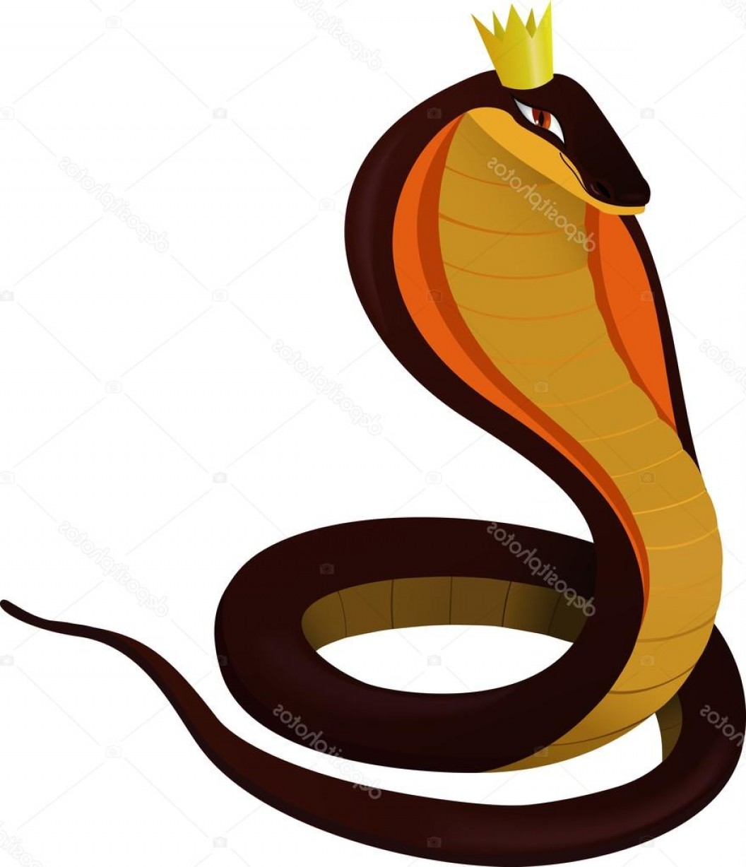 Snake Crown Vector: Stock Illustration The Serpent With The Crown