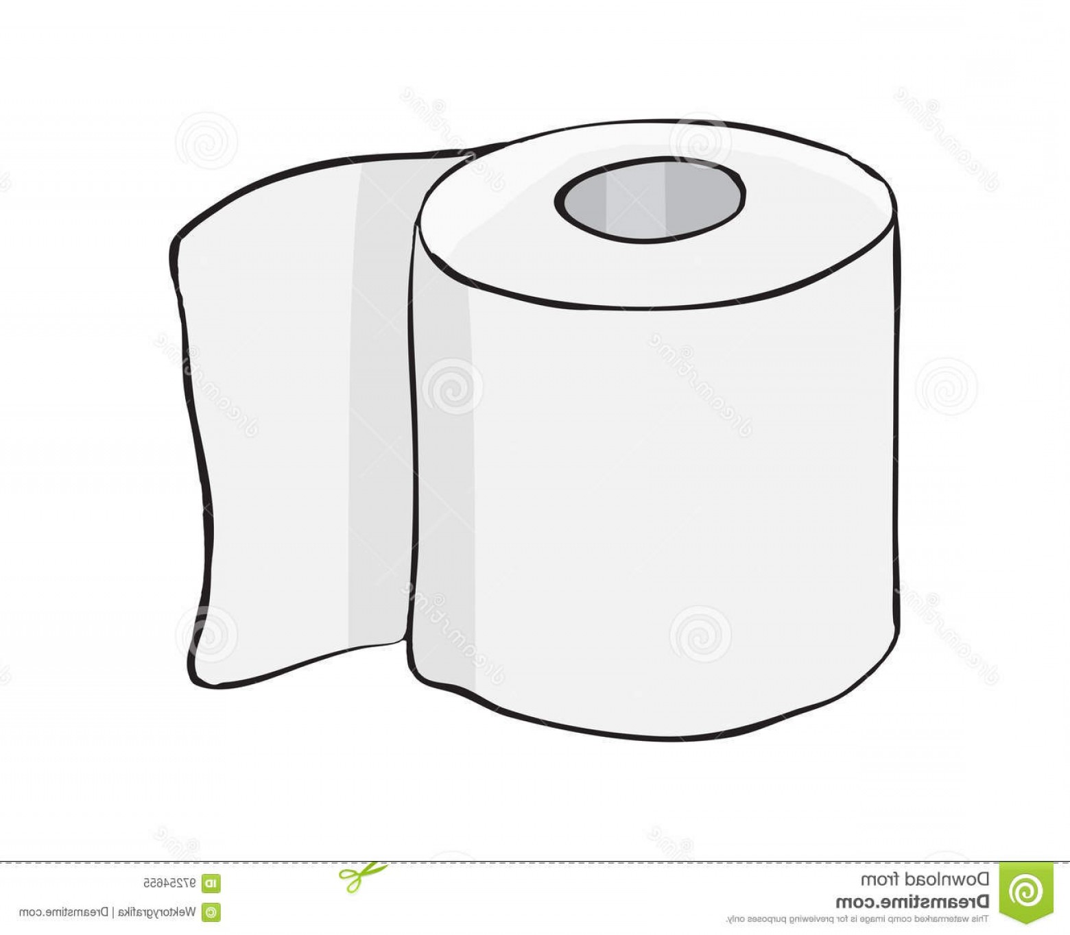 Toilet Paper Vector: Stock Illustration Toilet Paper Roll Vector Symbol Icon Design Beautiful Illustrat Rool Illustration Isolated White Background Image