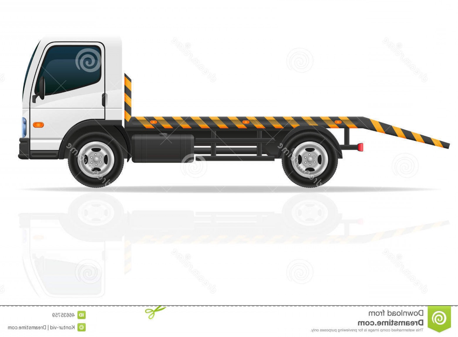Gruas Truck Vector: Stock Illustration Tow Truck Transportation Faults Emergency Cars Vector Il Illustration White Background Image