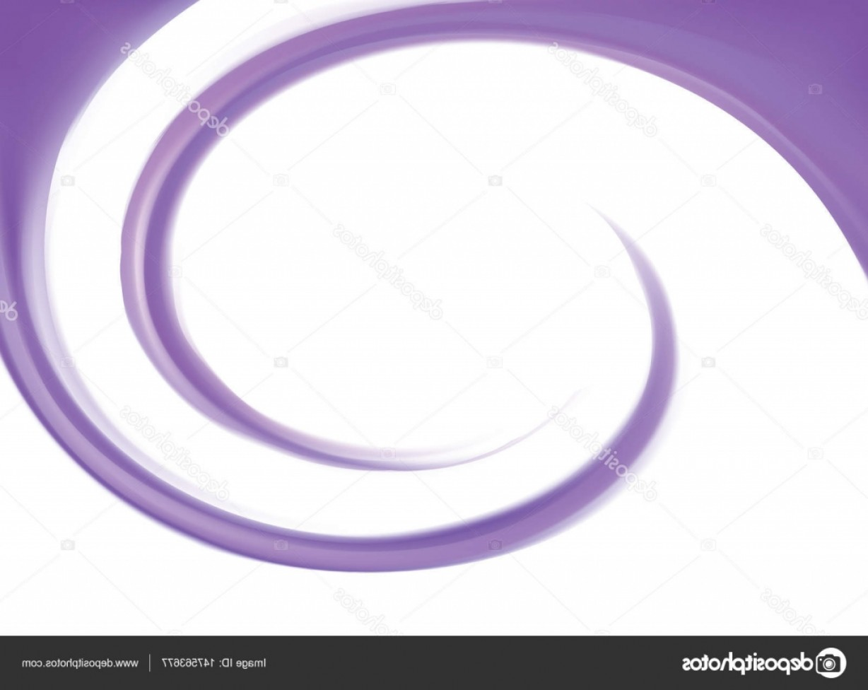 Violet Swirl Design Vector: Stock Illustration Vector Abstract Violet Swirl Background