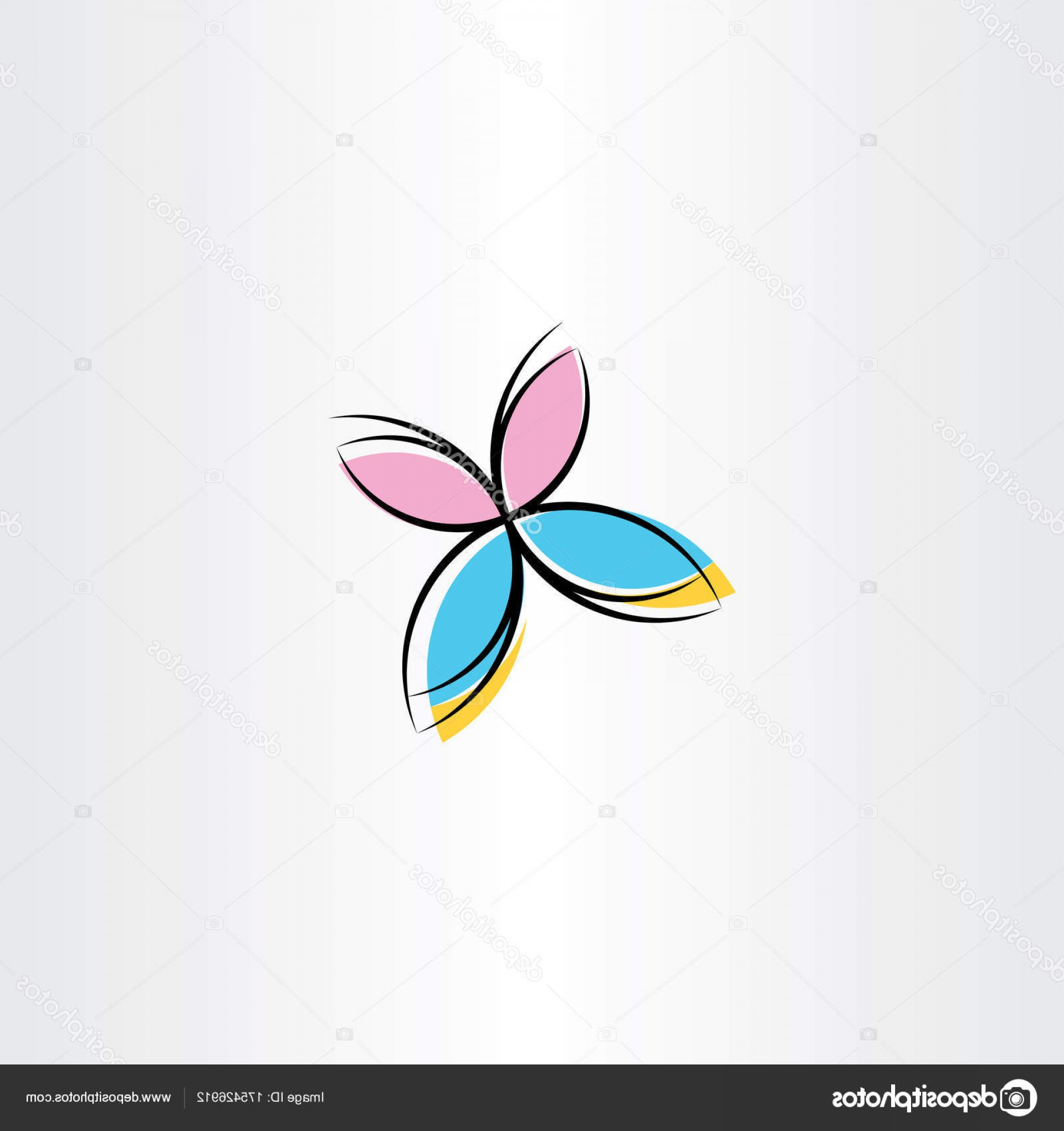Vector Butterfly Clip Art: Stock Illustration Vector Butterfly Icon Clipart Design