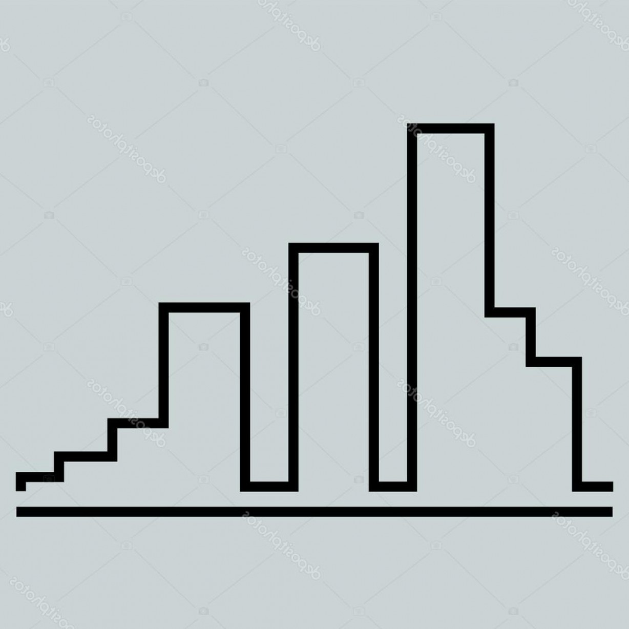 Construction Logos Vector Black And White: Stock Illustration Vector City Buildings Building Construction