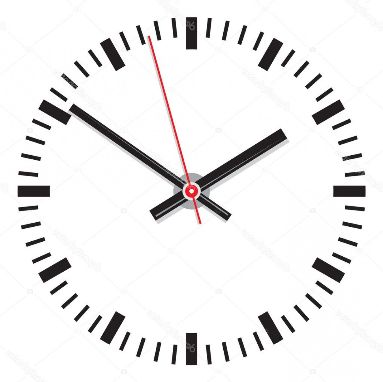 Watch Face Vector: Stock Illustration Vector Clock Face Easy Change