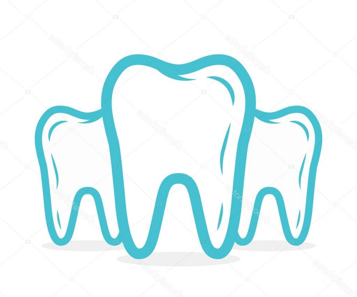 Tooth Vector Logo: Stock Illustration Vector Dental Or Tooth Logo