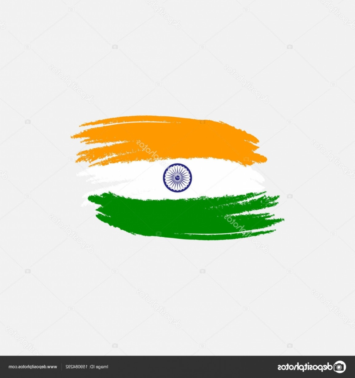 India Flag Vector: Stock Illustration Vector Flag Of India Vector