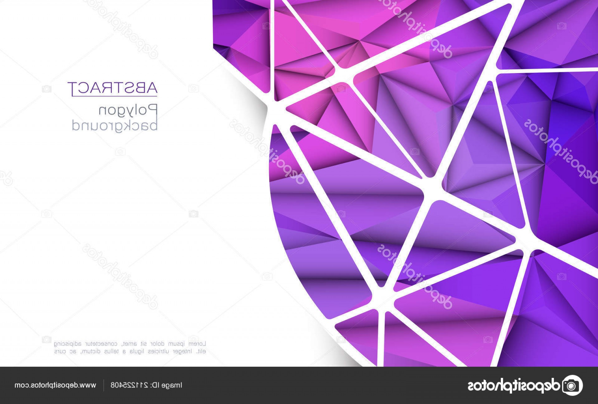 Vector Geometric Abstract Shapes Phone Wallpapers: Stock Illustration Vector Geometric Polygon Line Triangle