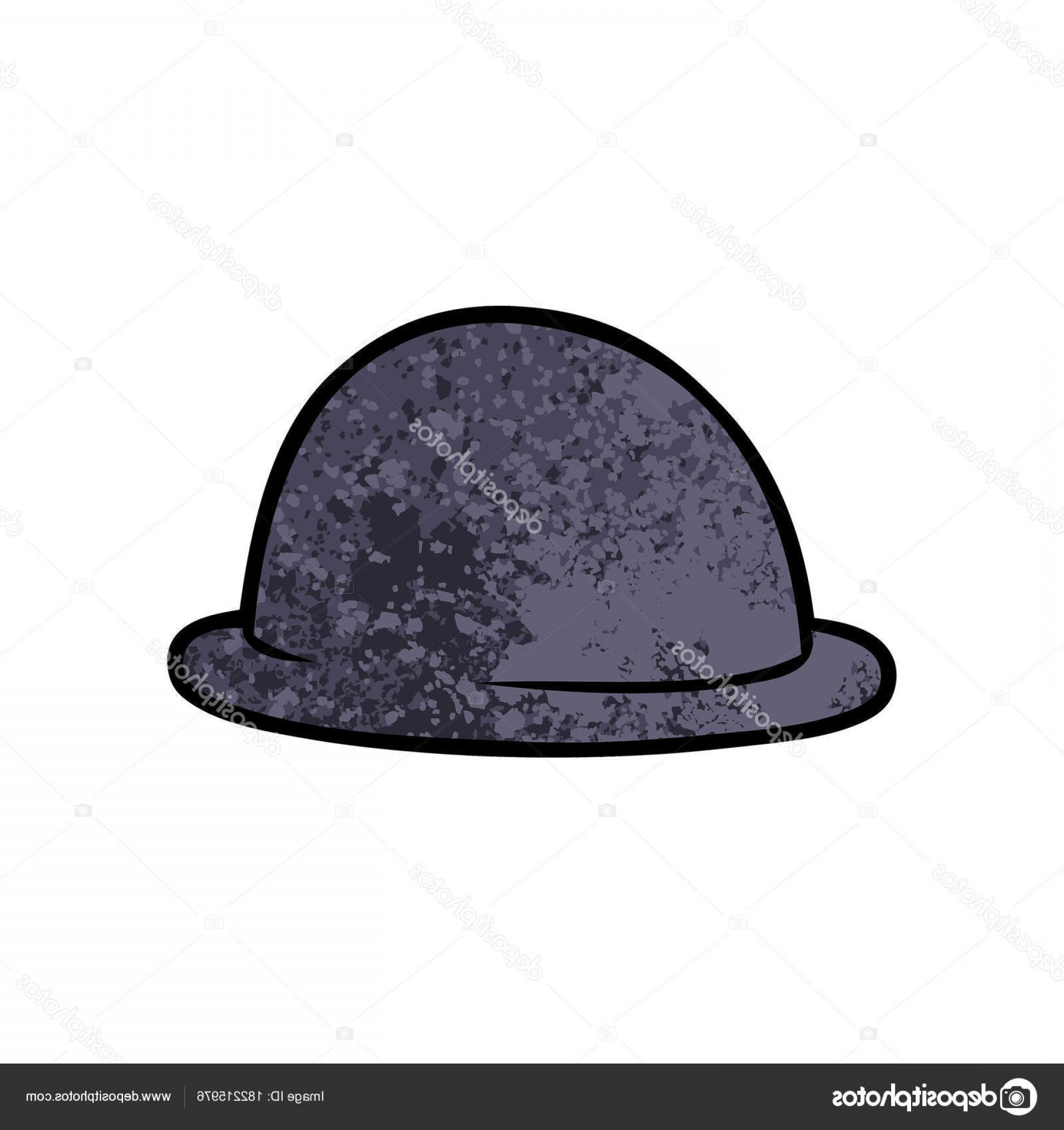 Bowler Hat Vector: Stock Illustration Vector Illustration Cartoon Bowler Hat