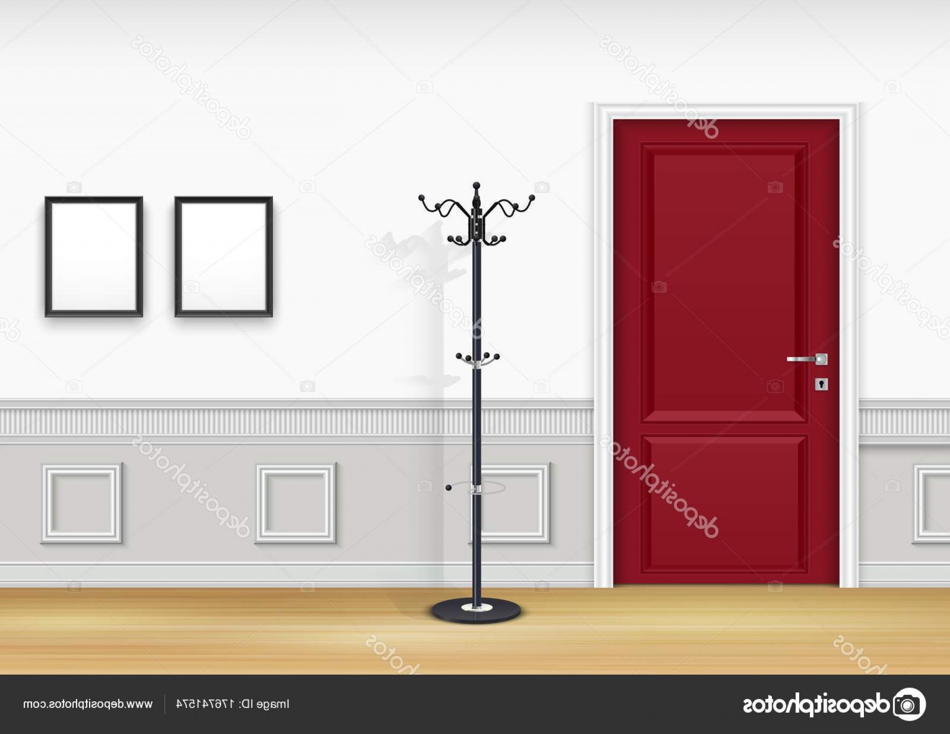 Vector Background For Living Room | CreateMePink
