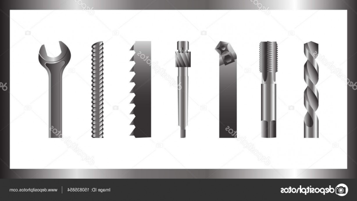Hand Lathe Vector: Stock Illustration Vector Image Of Hand Held